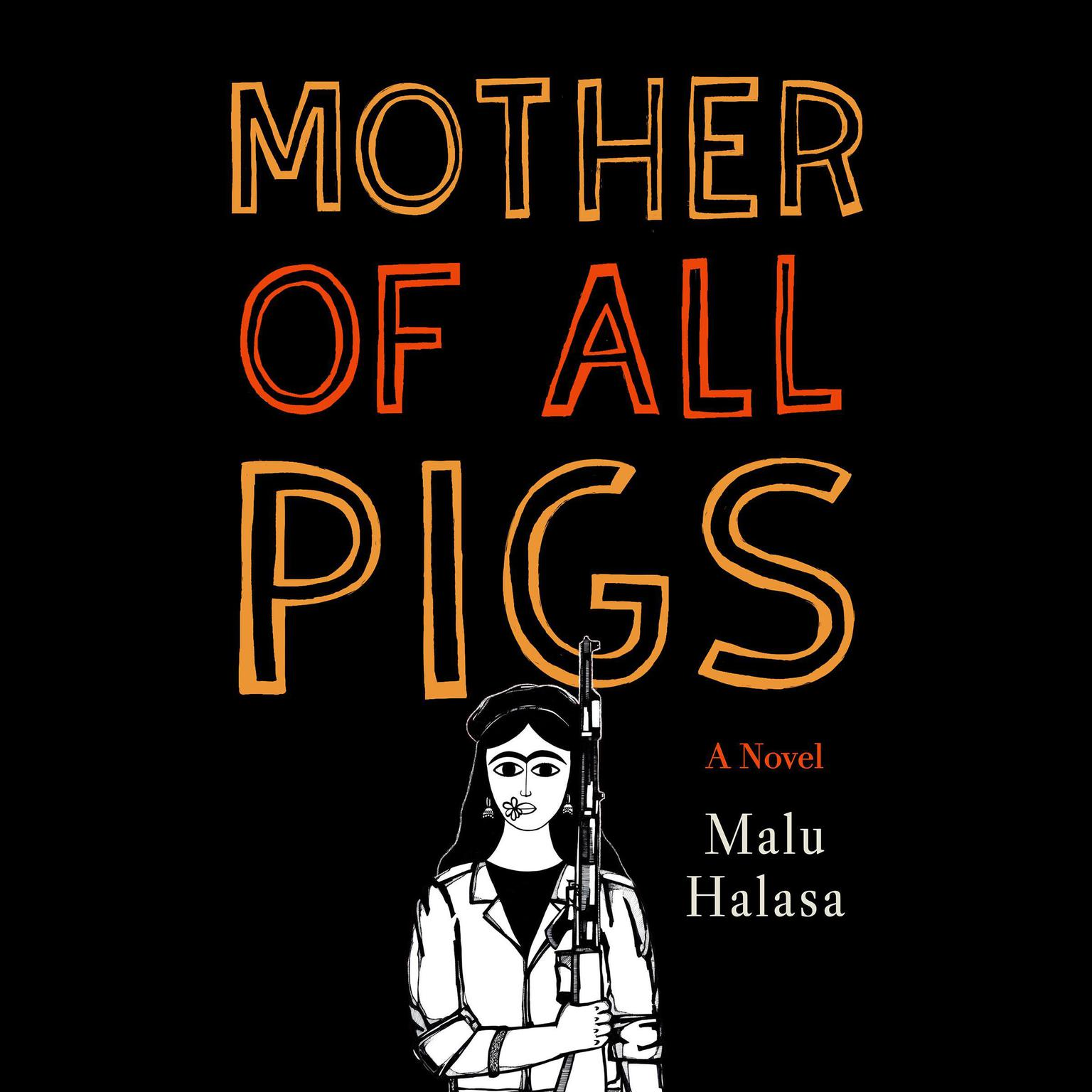 Printable Mother of All Pigs Audiobook Cover Art