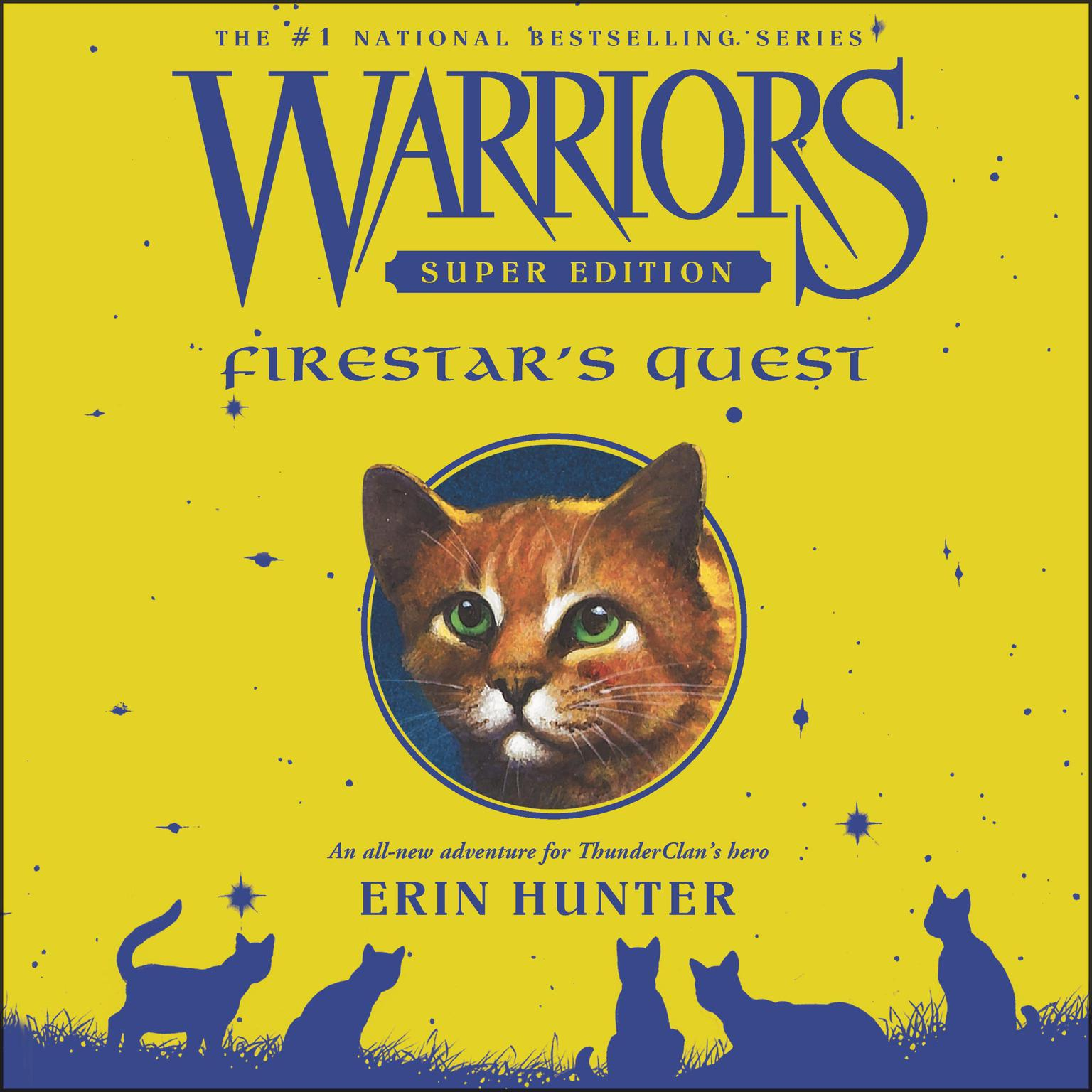 picture regarding Warriors Printable Schedule named Warriors Tremendous Model: Firestars Quest Audiobook