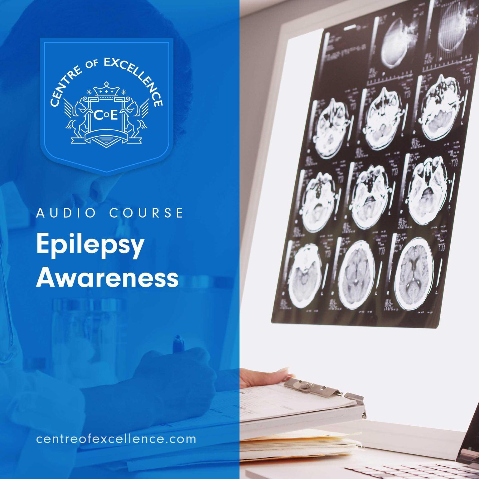 Printable Epilepsy Awareness Audiobook Cover Art