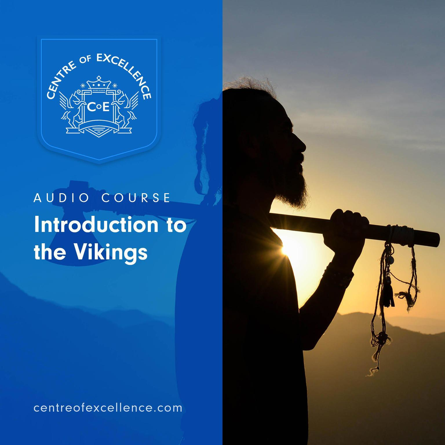 Printable Introduction to the Vikings Audiobook Cover Art