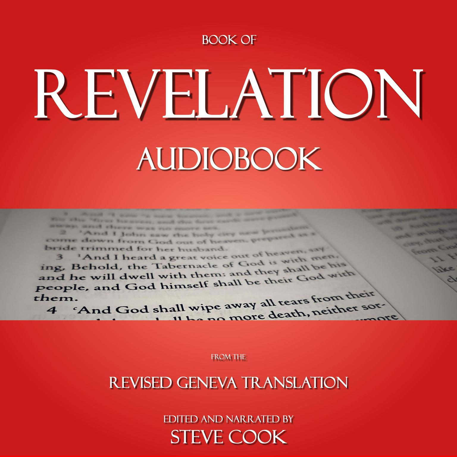 Book of Revelation Audiobook: From The Revised Geneva Translation: From the Revised Geneva Translation Audiobook, by Steve Cook