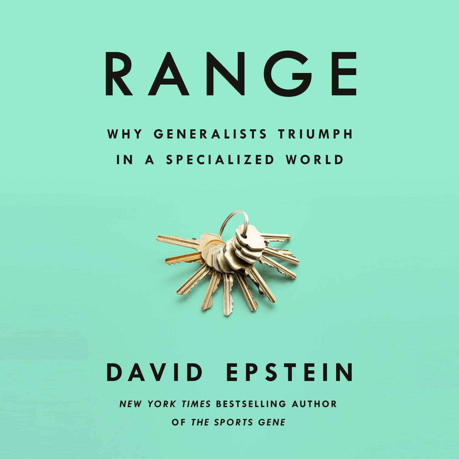 Printable Range: Why Generalists Triumph in a Specialized World Audiobook Cover Art
