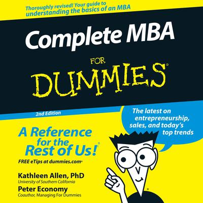 Complete MBA For Dummies: 2nd Edition Audiobook, by Kathleen Allen