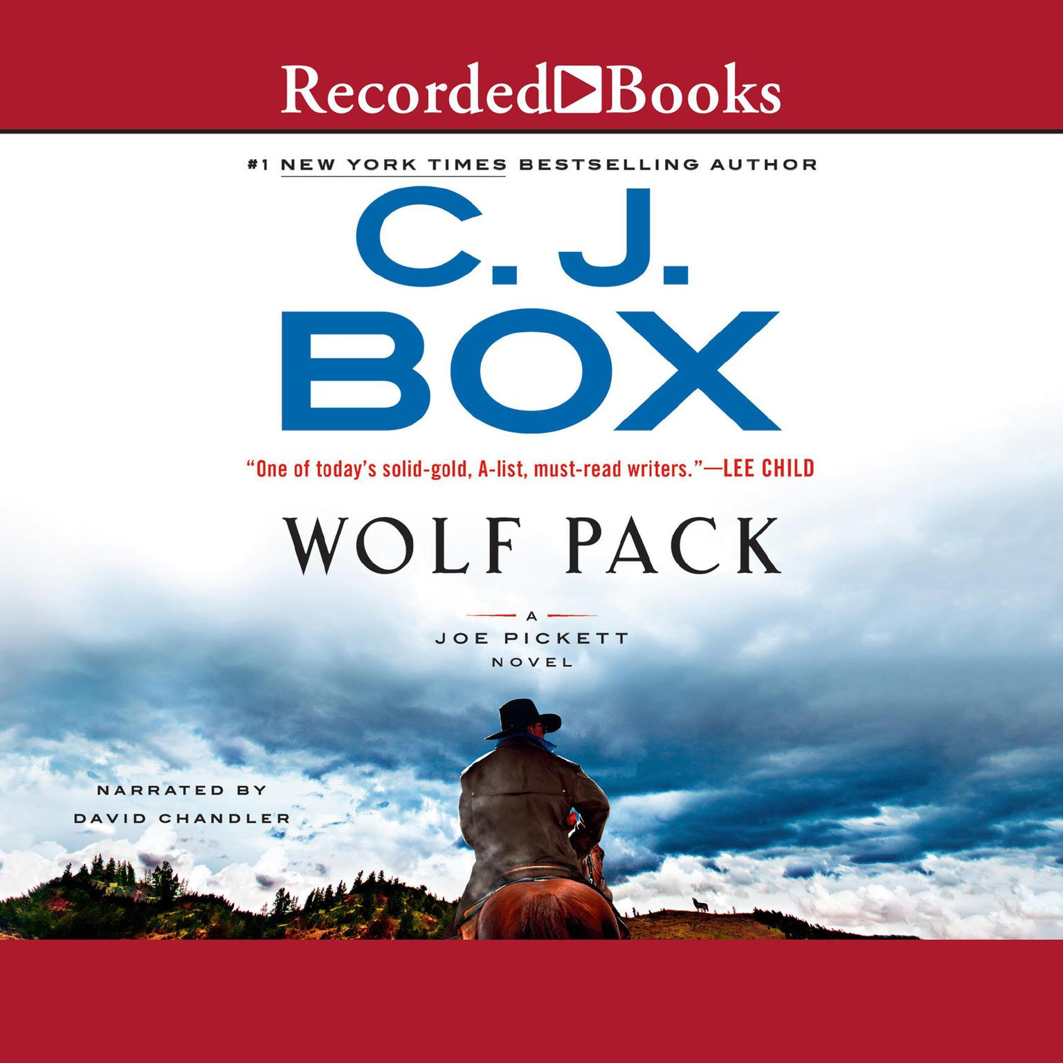 Printable Wolf Pack Audiobook Cover Art