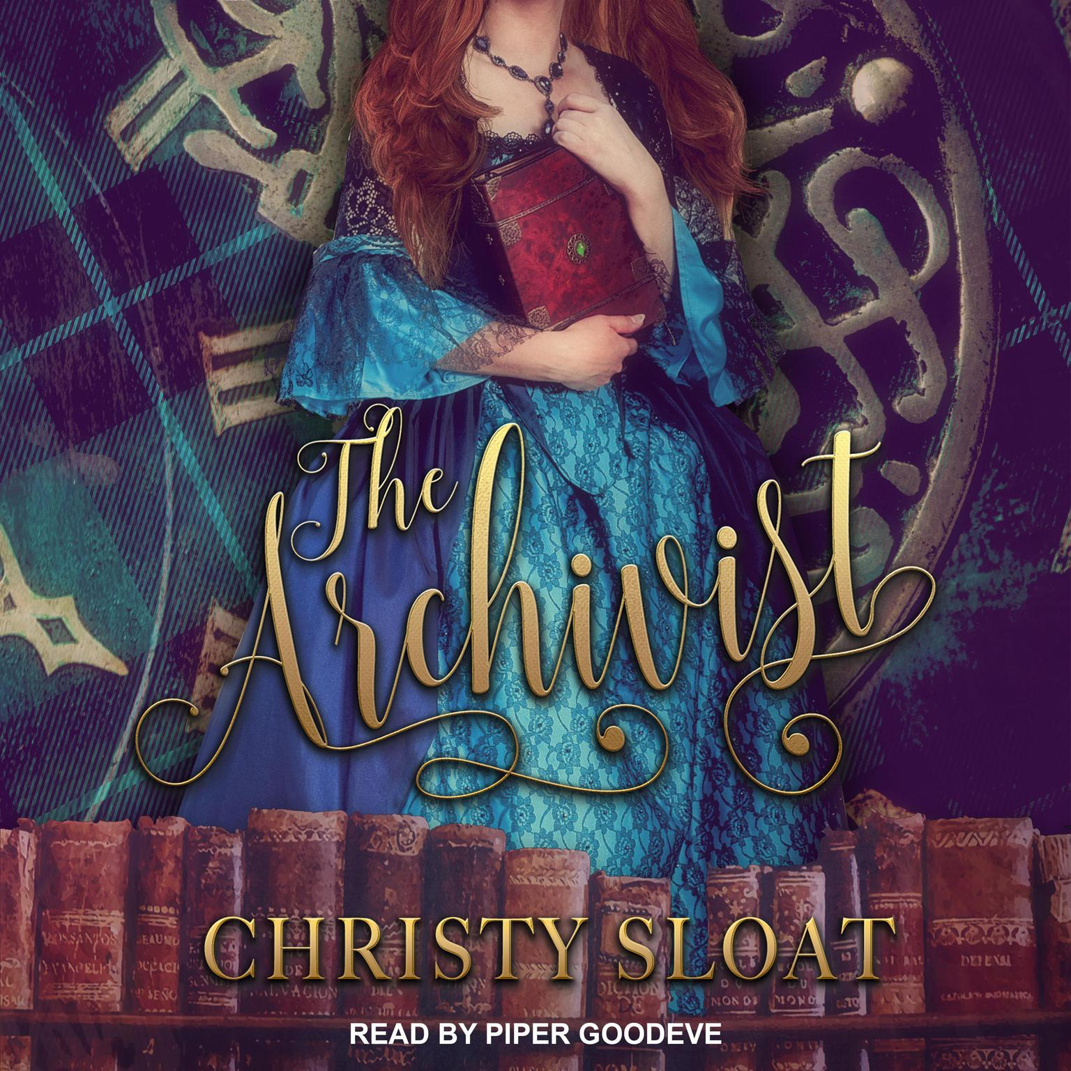 Printable The Archivist Audiobook Cover Art