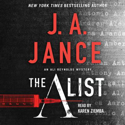 The A List Audiobook, by J. A. Jance