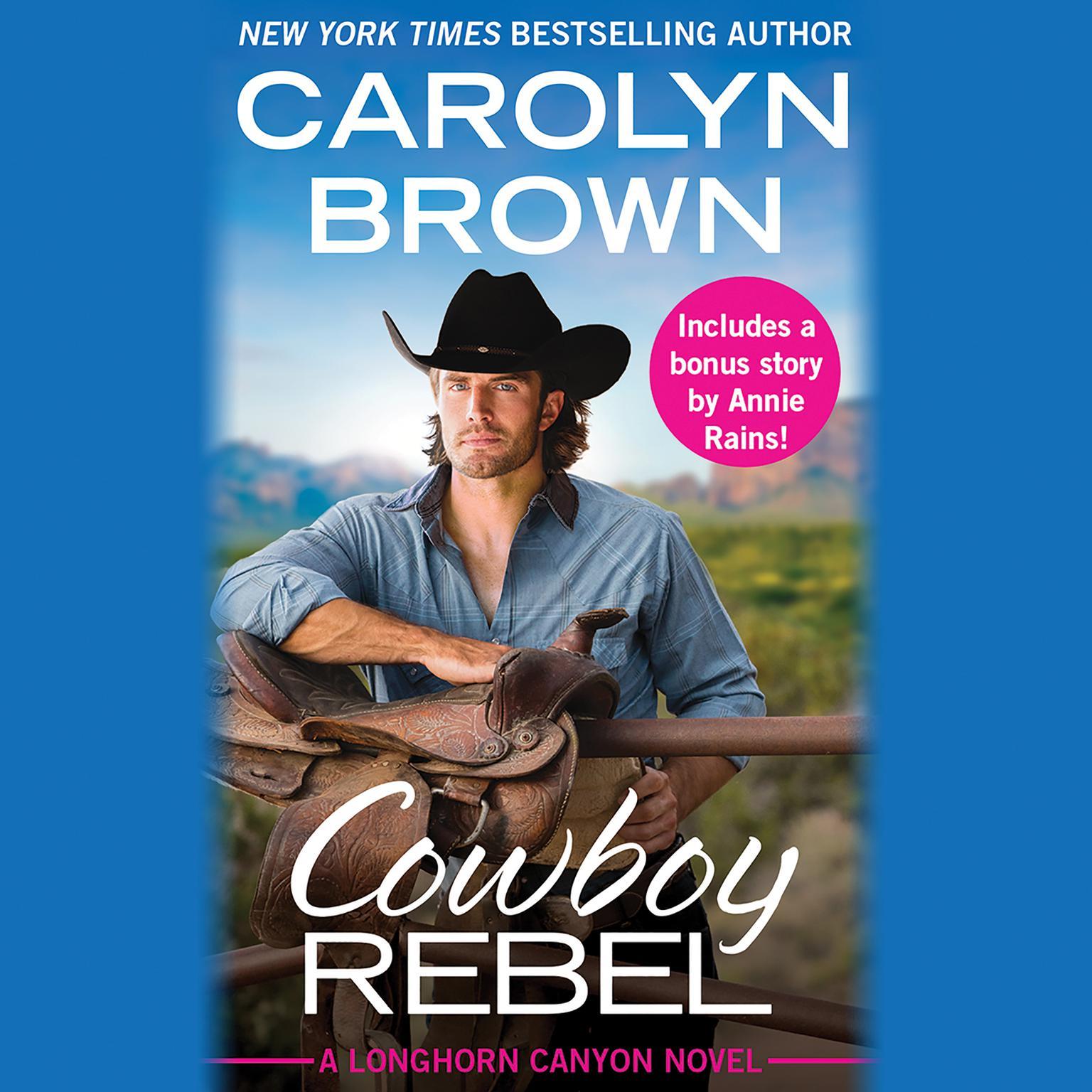 Printable Cowboy Rebel: Includes a bonus short story Audiobook Cover Art