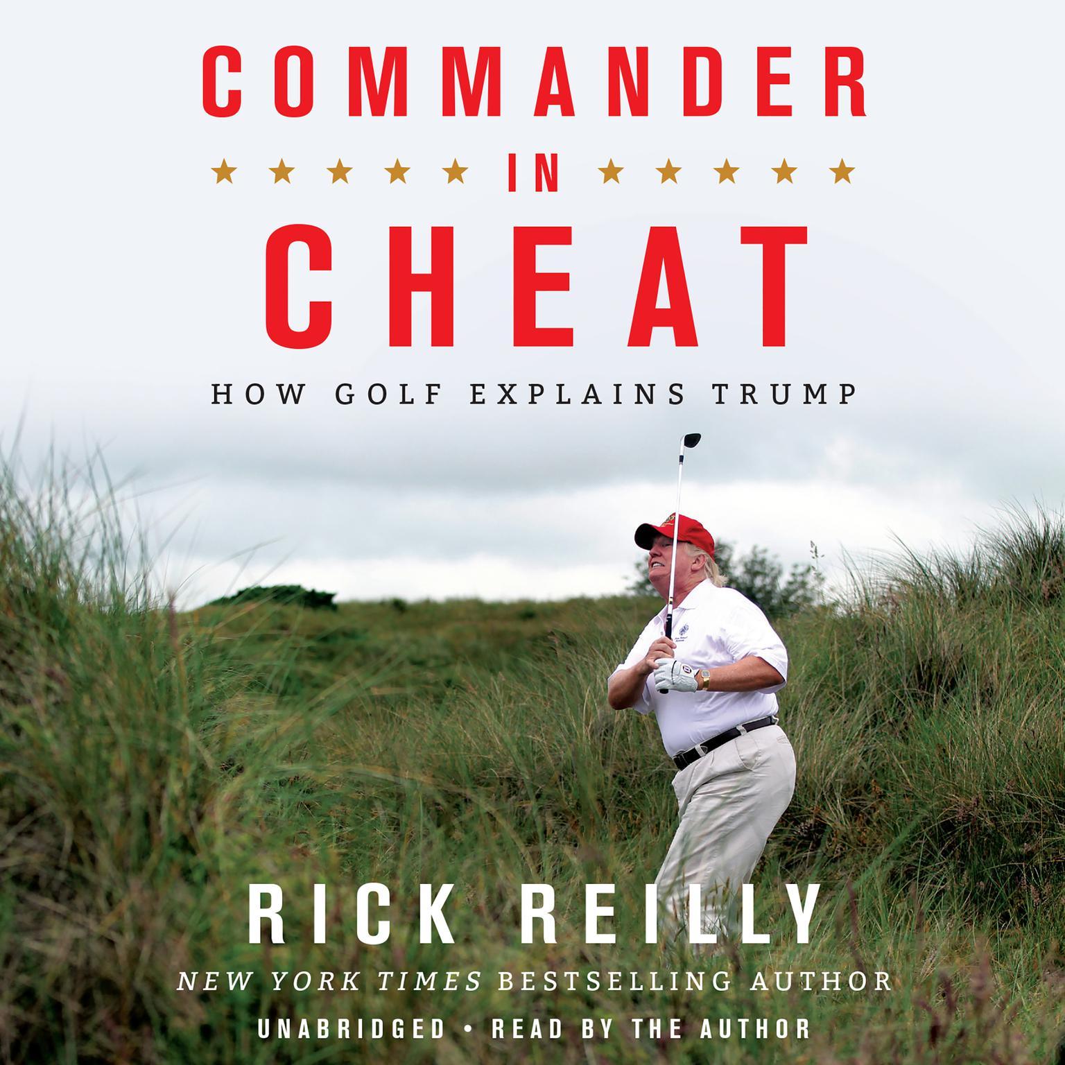 Printable Commander in Cheat: How Golf Explains Trump Audiobook Cover Art