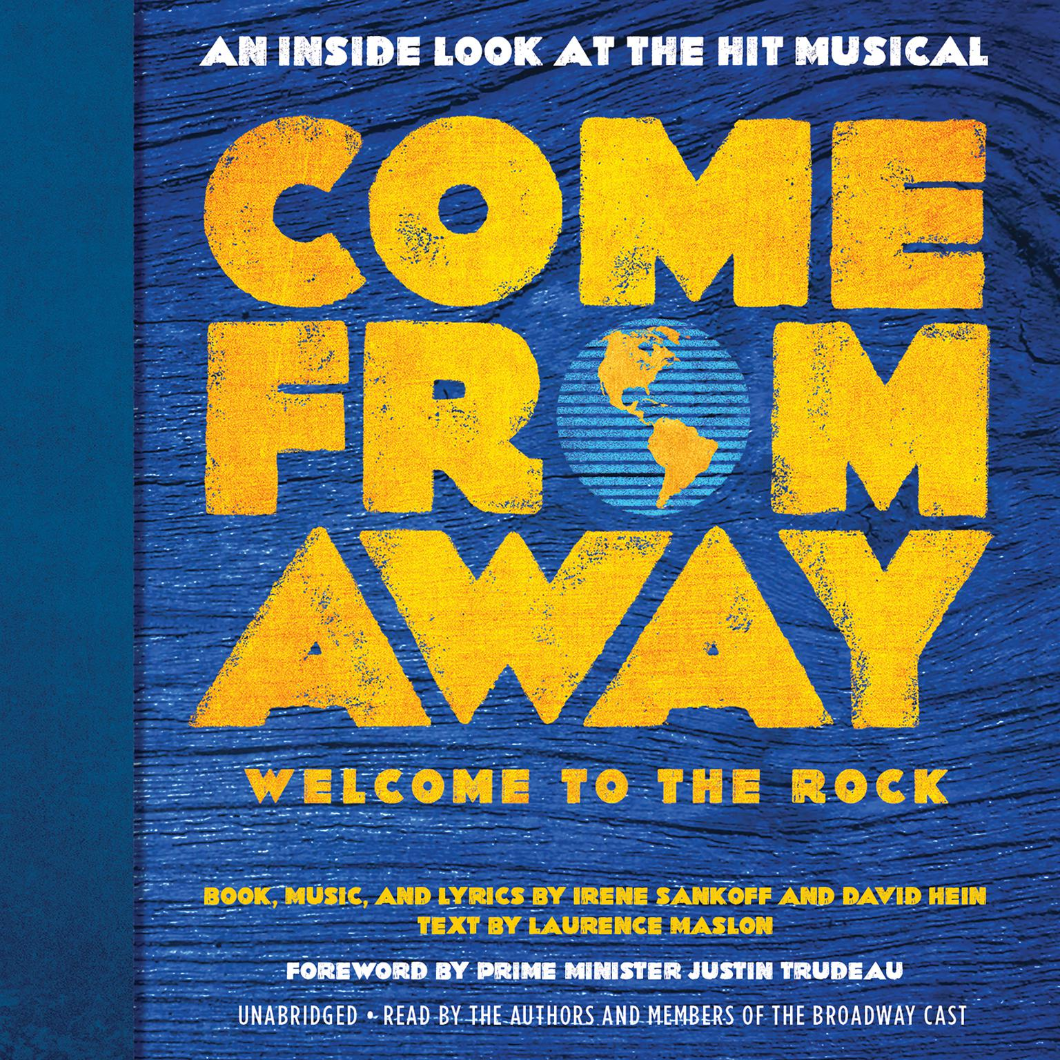 Printable Come from Away: Welcome to the Rock: An Inside Look at the Hit Musical Audiobook Cover Art
