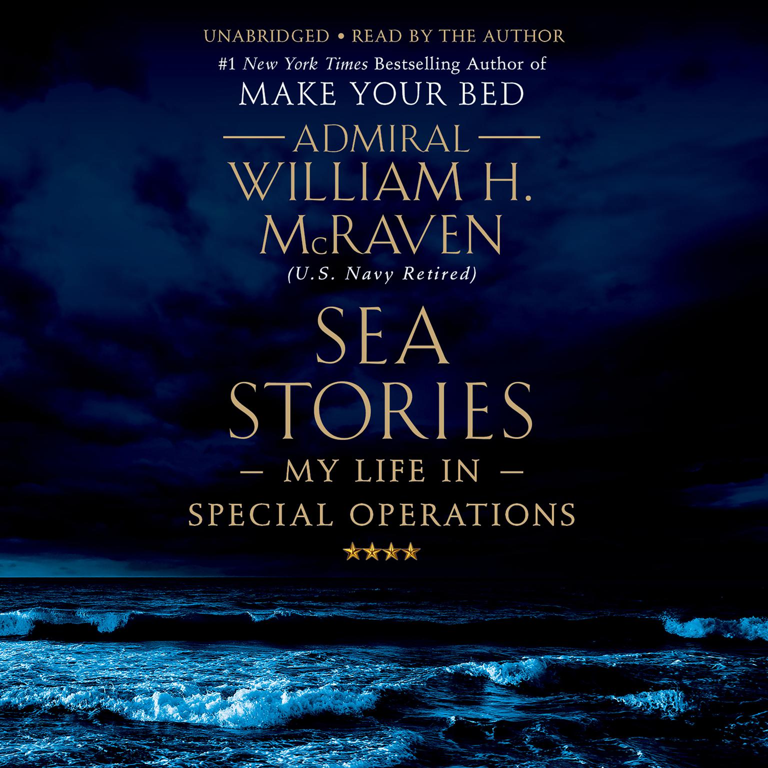 Printable Sea Stories: My Life in Special Operations Audiobook Cover Art