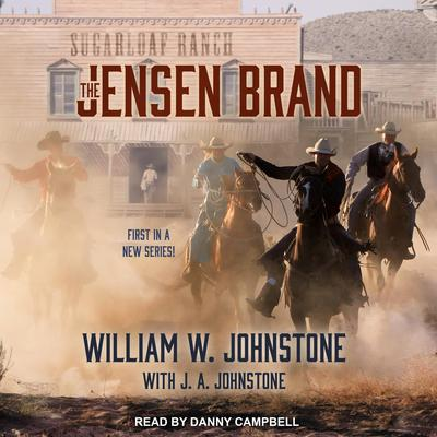 The Jensen Brand Audiobook, by J. A. Johnstone