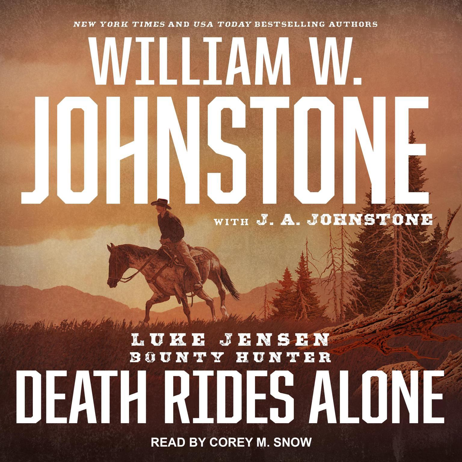 Printable Death Rides Alone Audiobook Cover Art