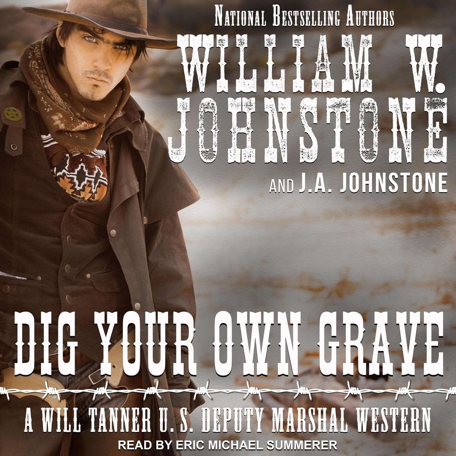 Printable Dig Your Own Grave Audiobook Cover Art