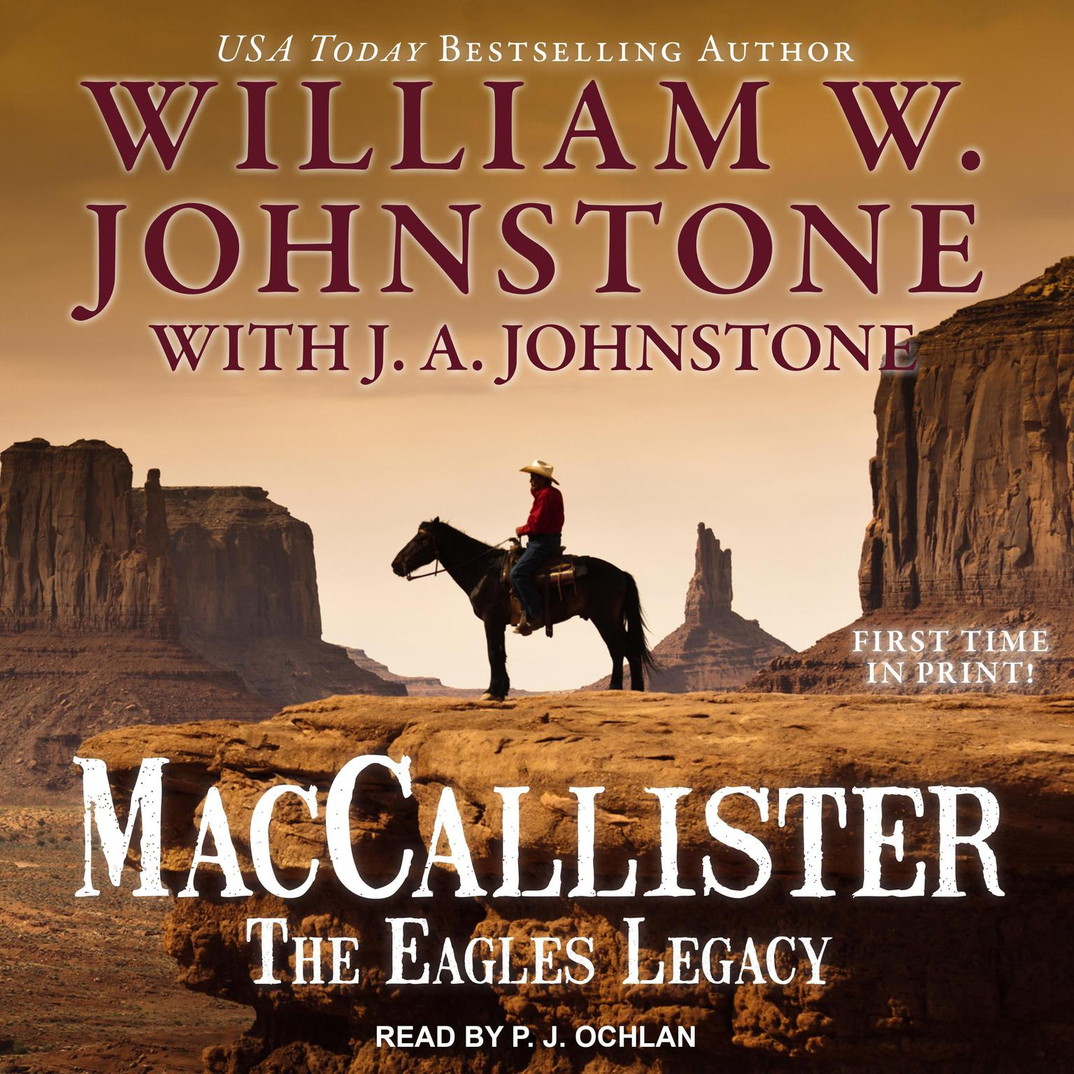 Printable MacCallister: The Eagles Legacy Audiobook Cover Art
