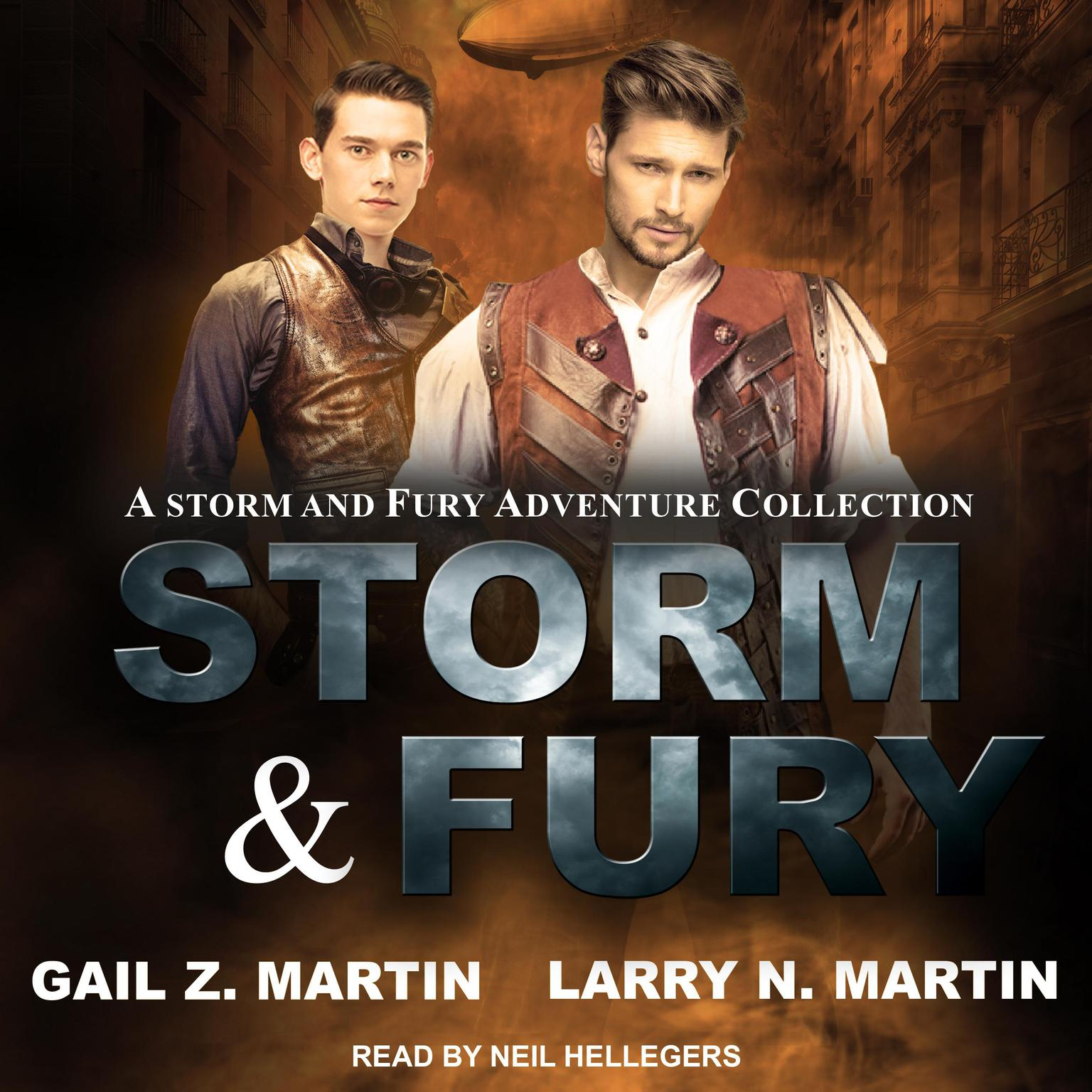Storm & Fury: A Storm & Fury Adventures Collection Audiobook, by Gail Z. Martin
