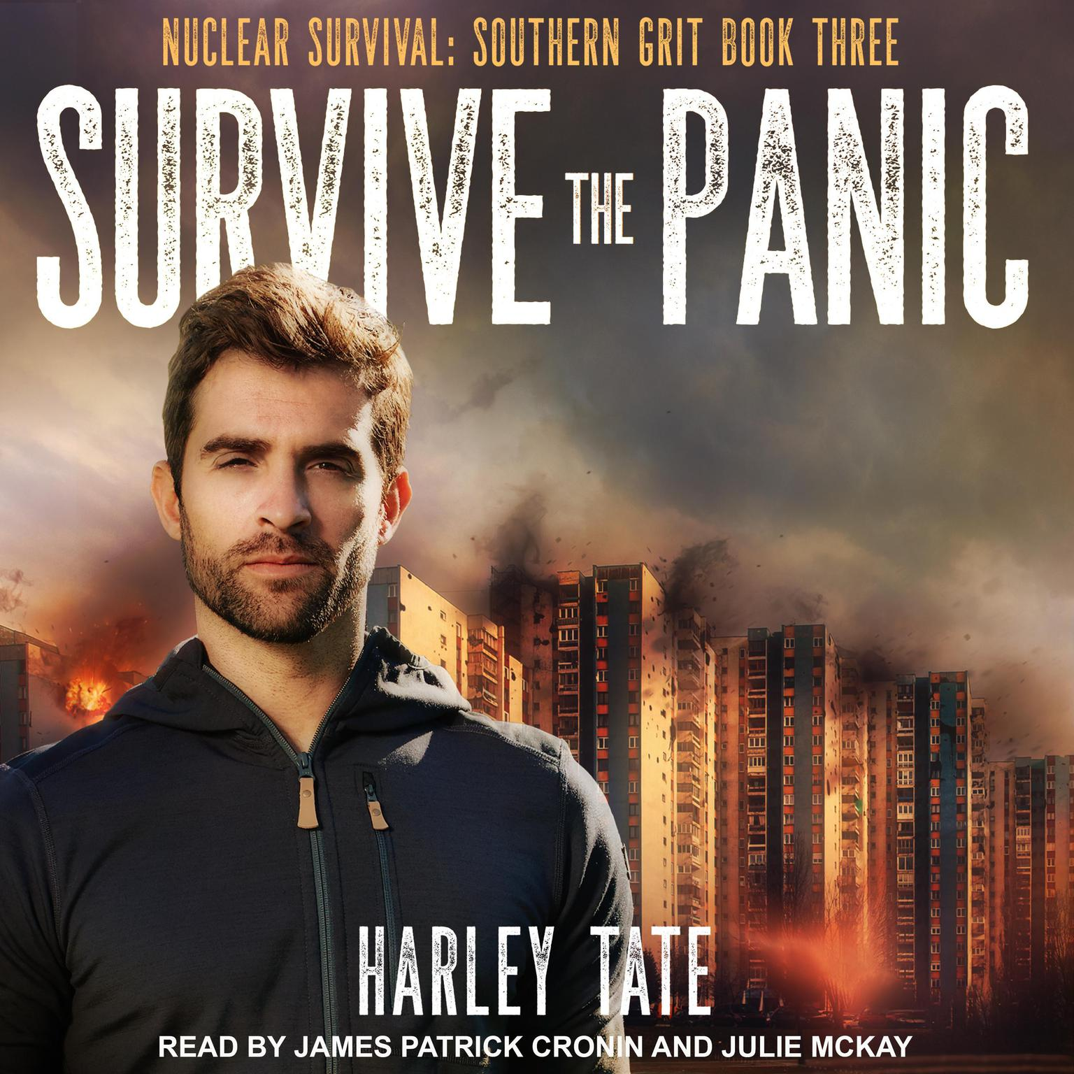 Printable Survive the Panic Audiobook Cover Art