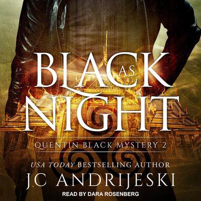 Black As Night Audiobook, by JC Andrijeski
