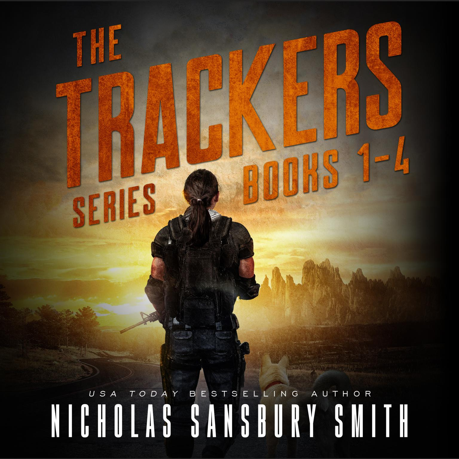 Printable The Trackers Series Box Set Audiobook Cover Art