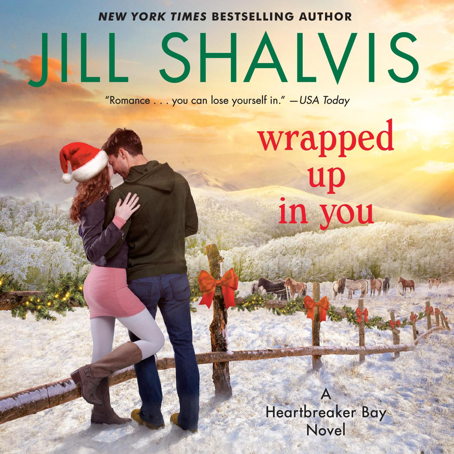 Printable Wrapped Up in You: A Novel Audiobook Cover Art