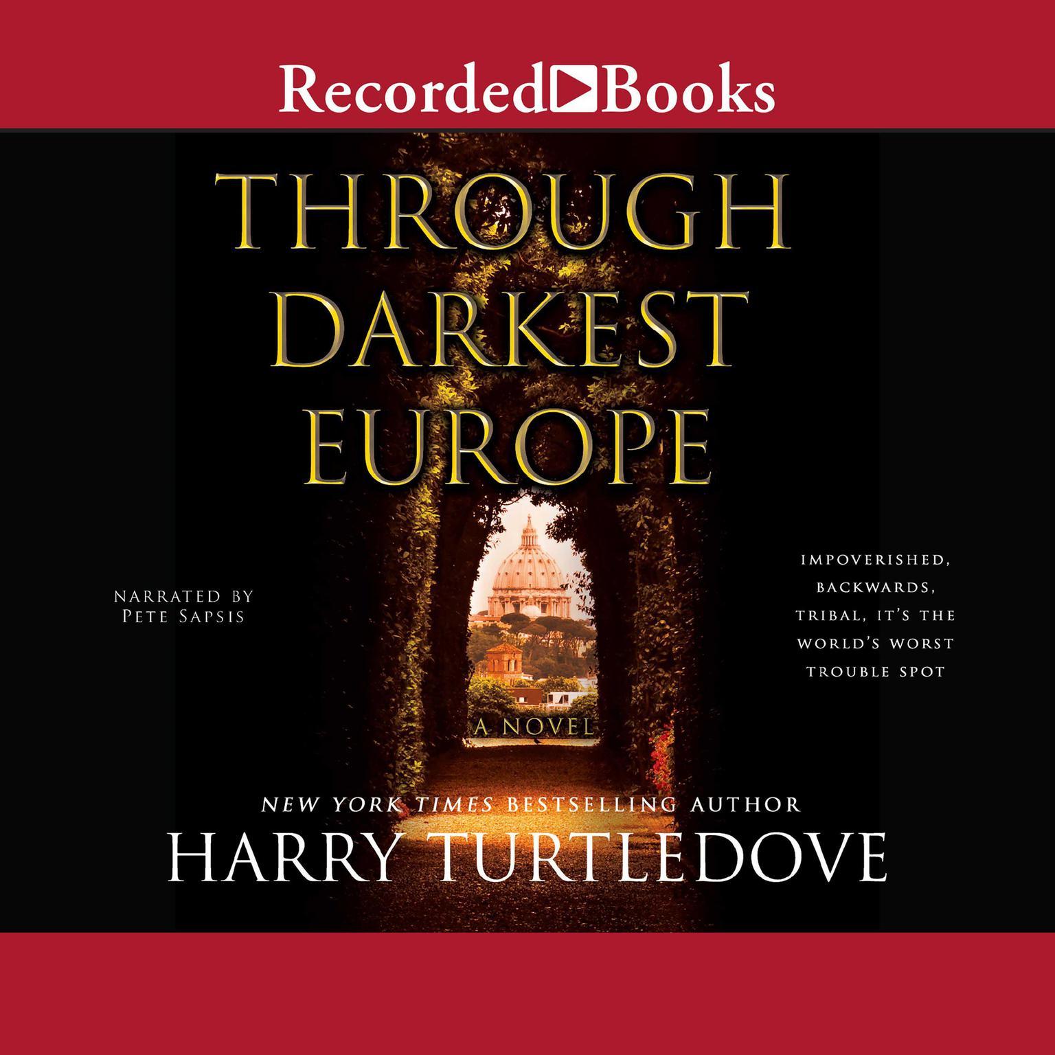 Printable Through Darkest Europe Audiobook Cover Art