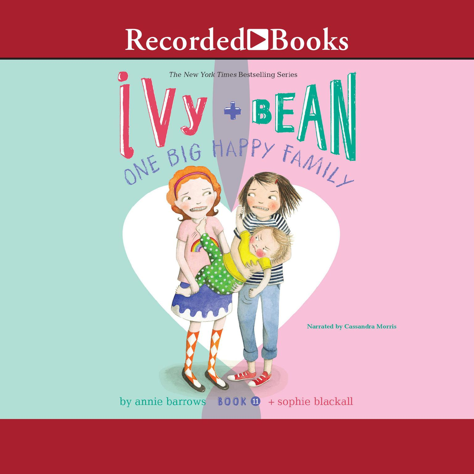 Printable Ivy and Bean: One Big Happy Family: One Big Happy Family Audiobook Cover Art