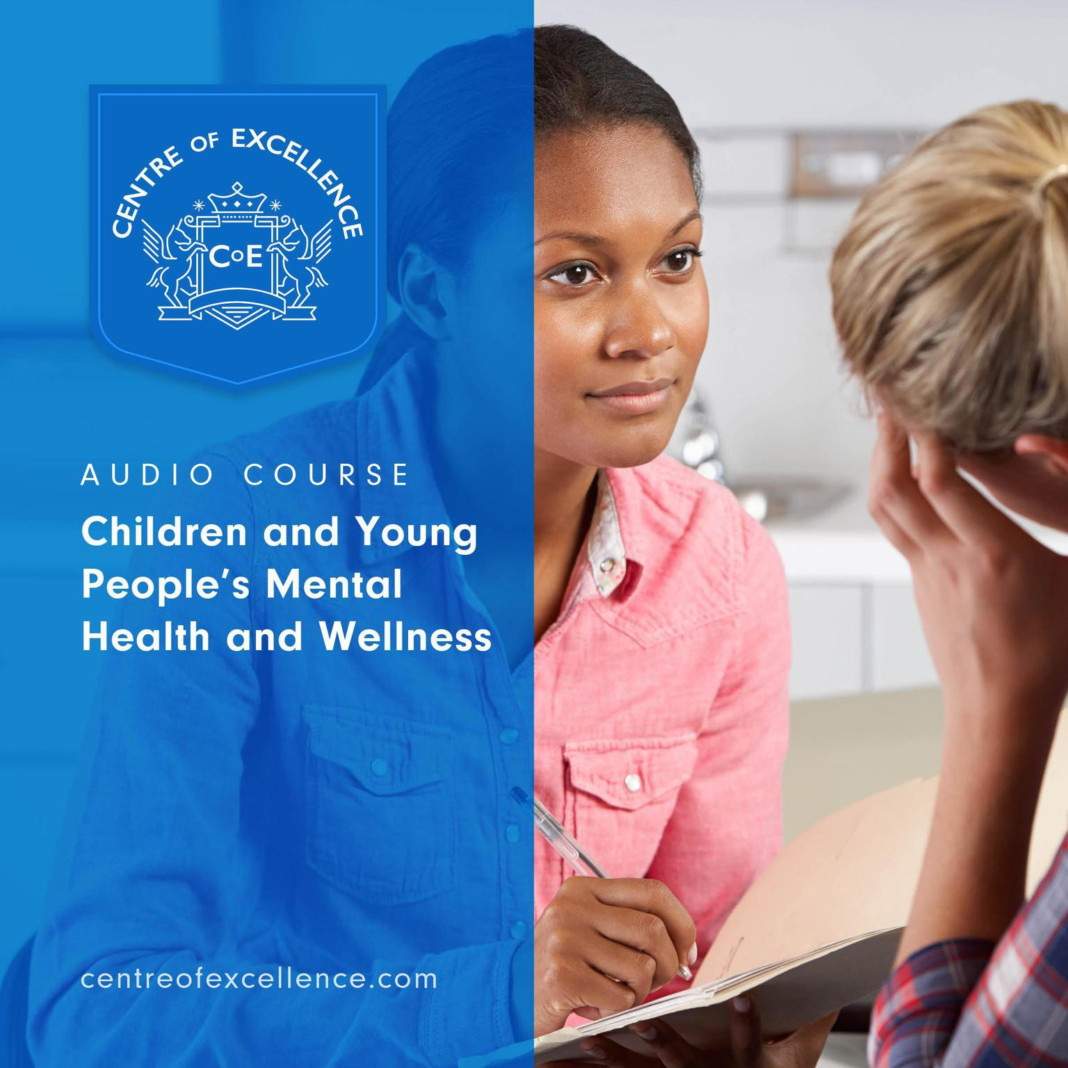 Printable Children and Young People's Mental Health and Wellness Audiobook Cover Art