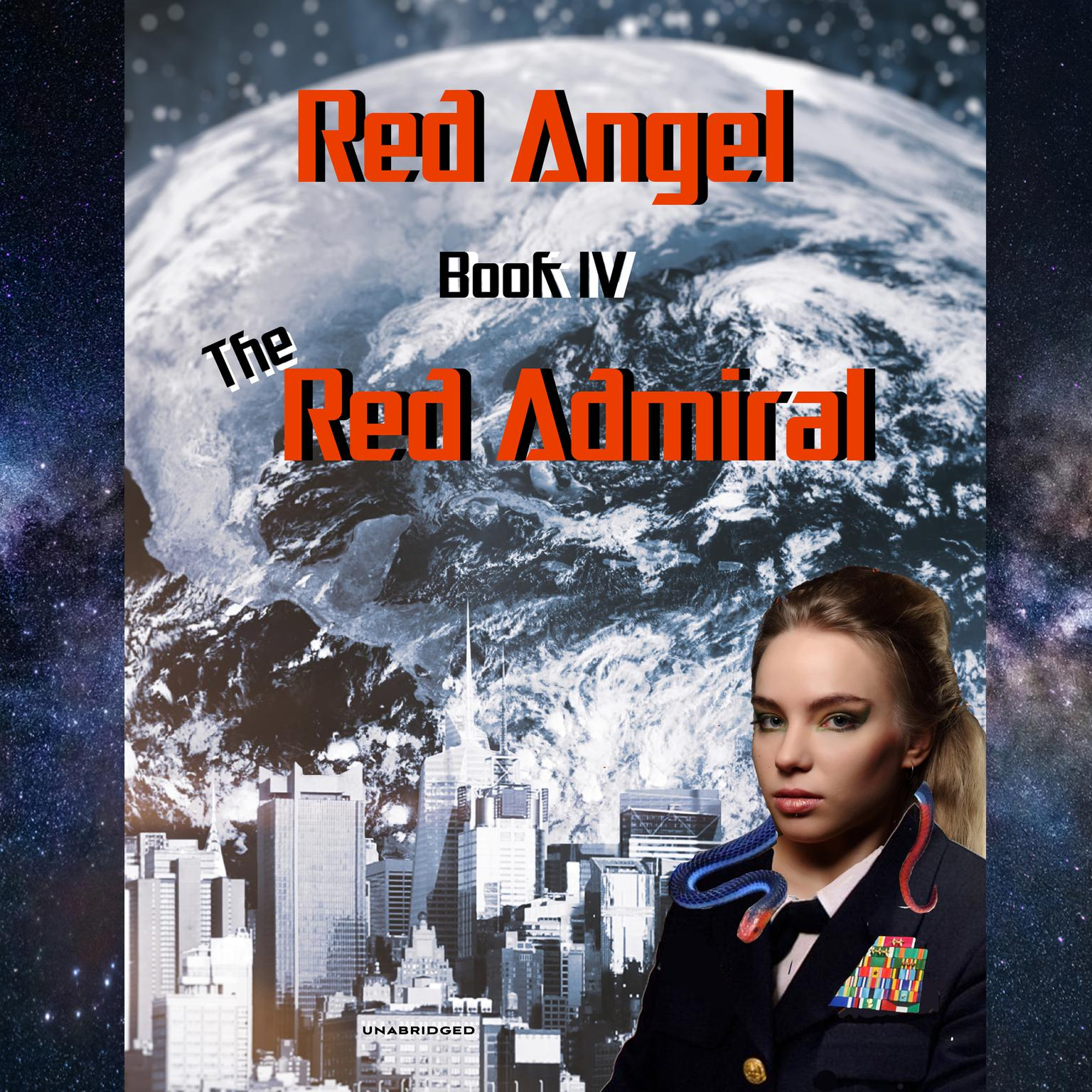 Printable The Red Admiral Audiobook Cover Art