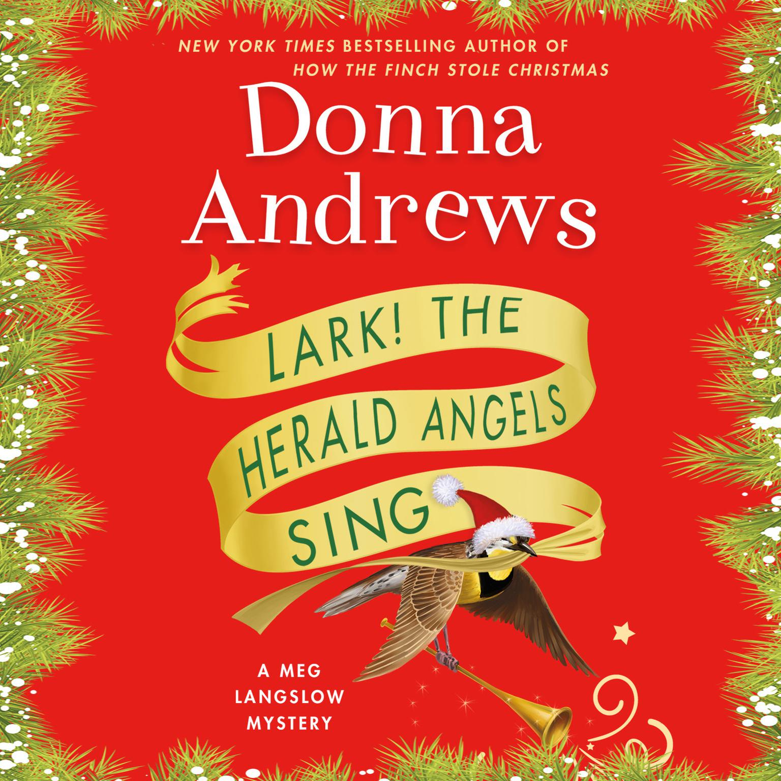 Printable Lark! The Herald Angels Sing Audiobook Cover Art