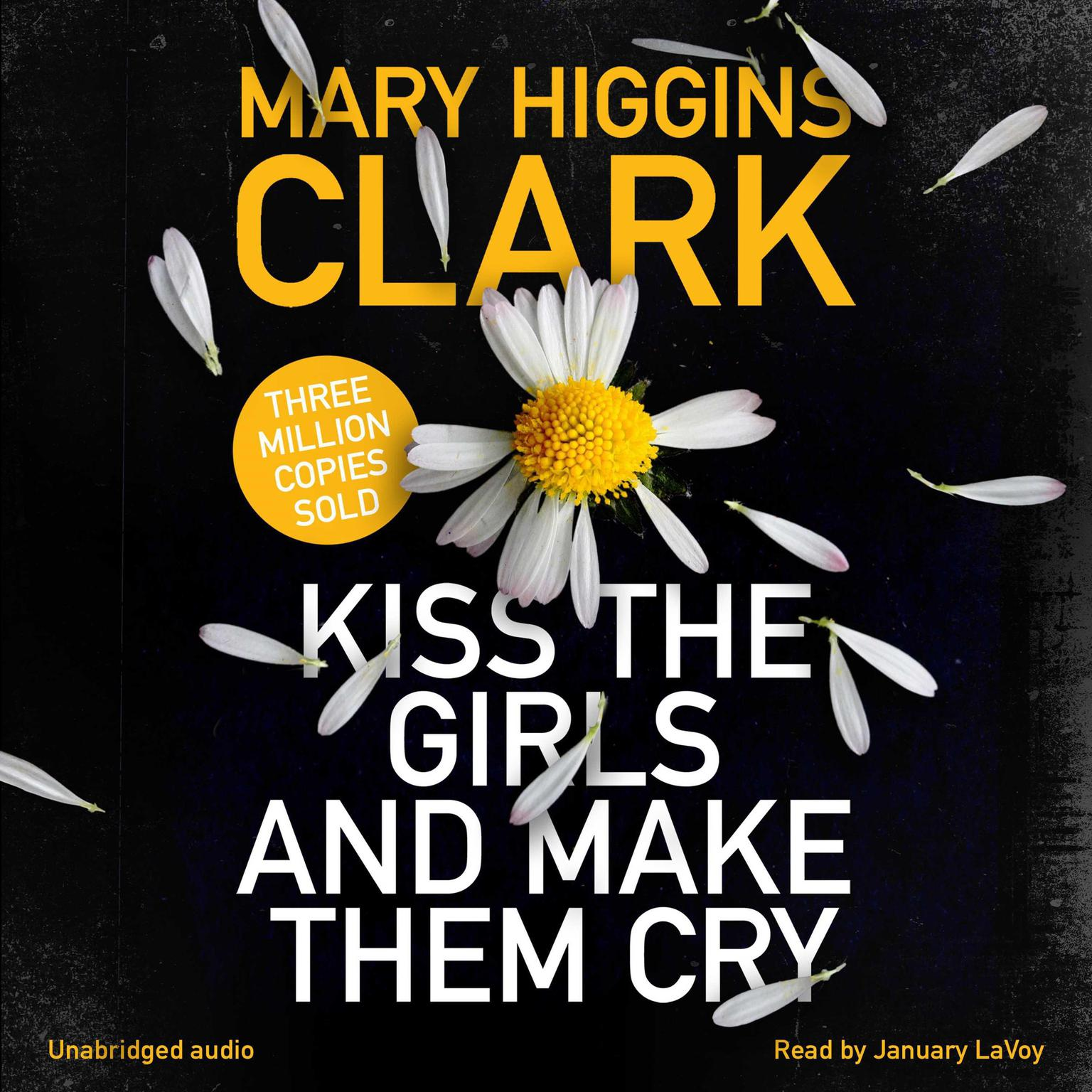 Printable Kiss the Girls and Make Them Cry Audiobook Cover Art