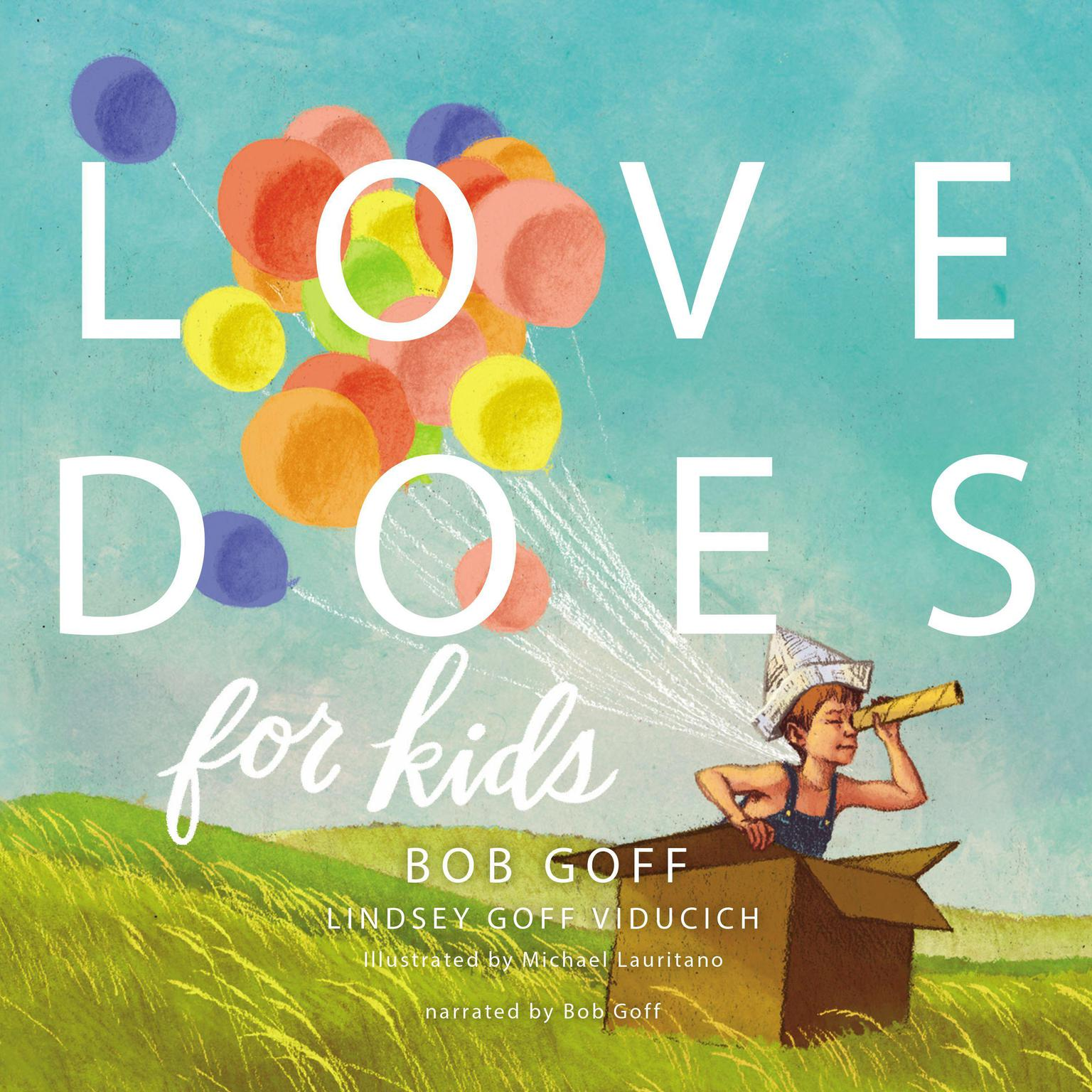 Printable Love Does for Kids Audiobook Cover Art