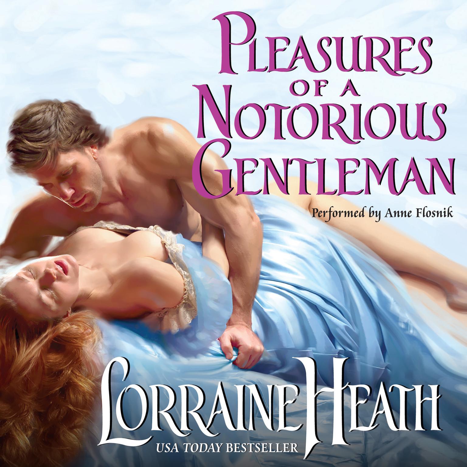 Printable Pleasures of a Notorious Gentleman Audiobook Cover Art