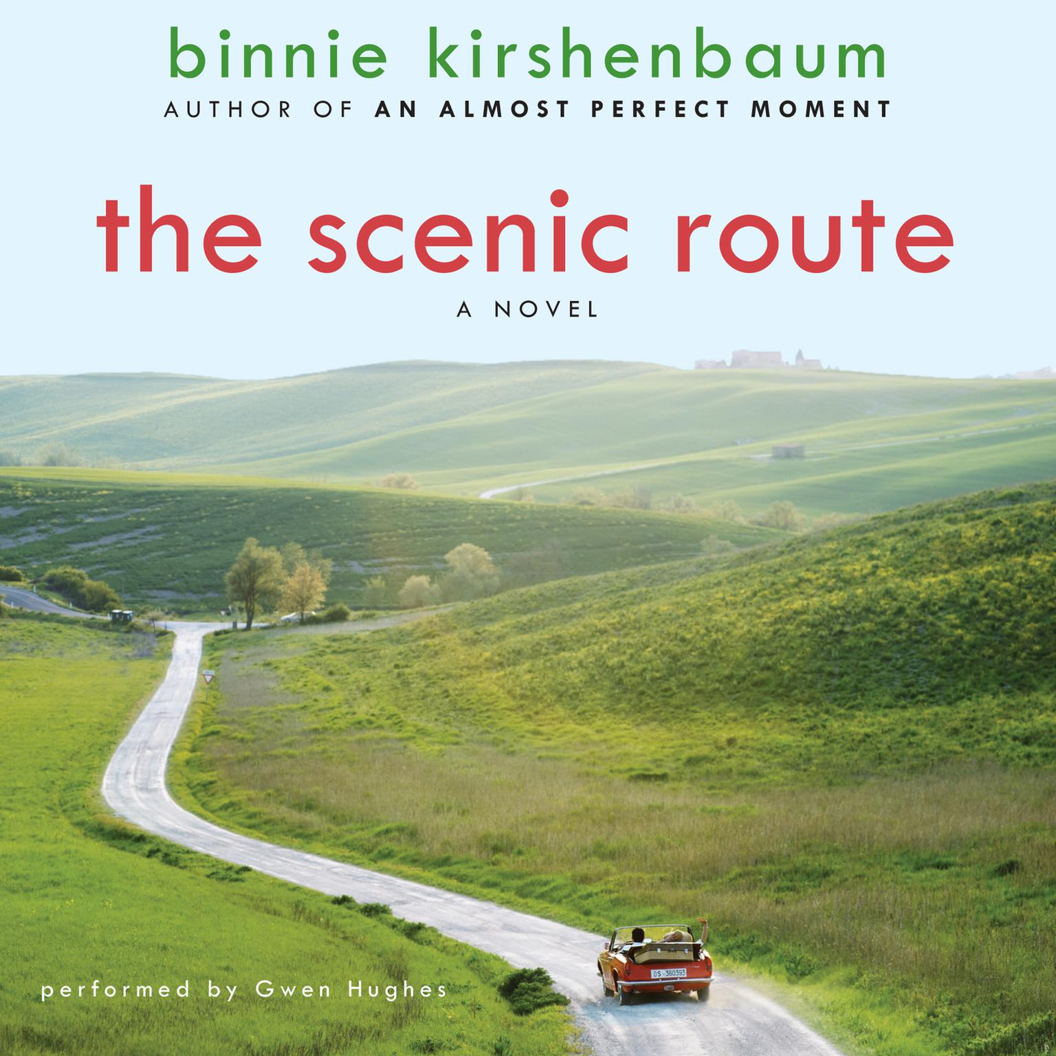 Printable The Scenic Route: A Novel Audiobook Cover Art