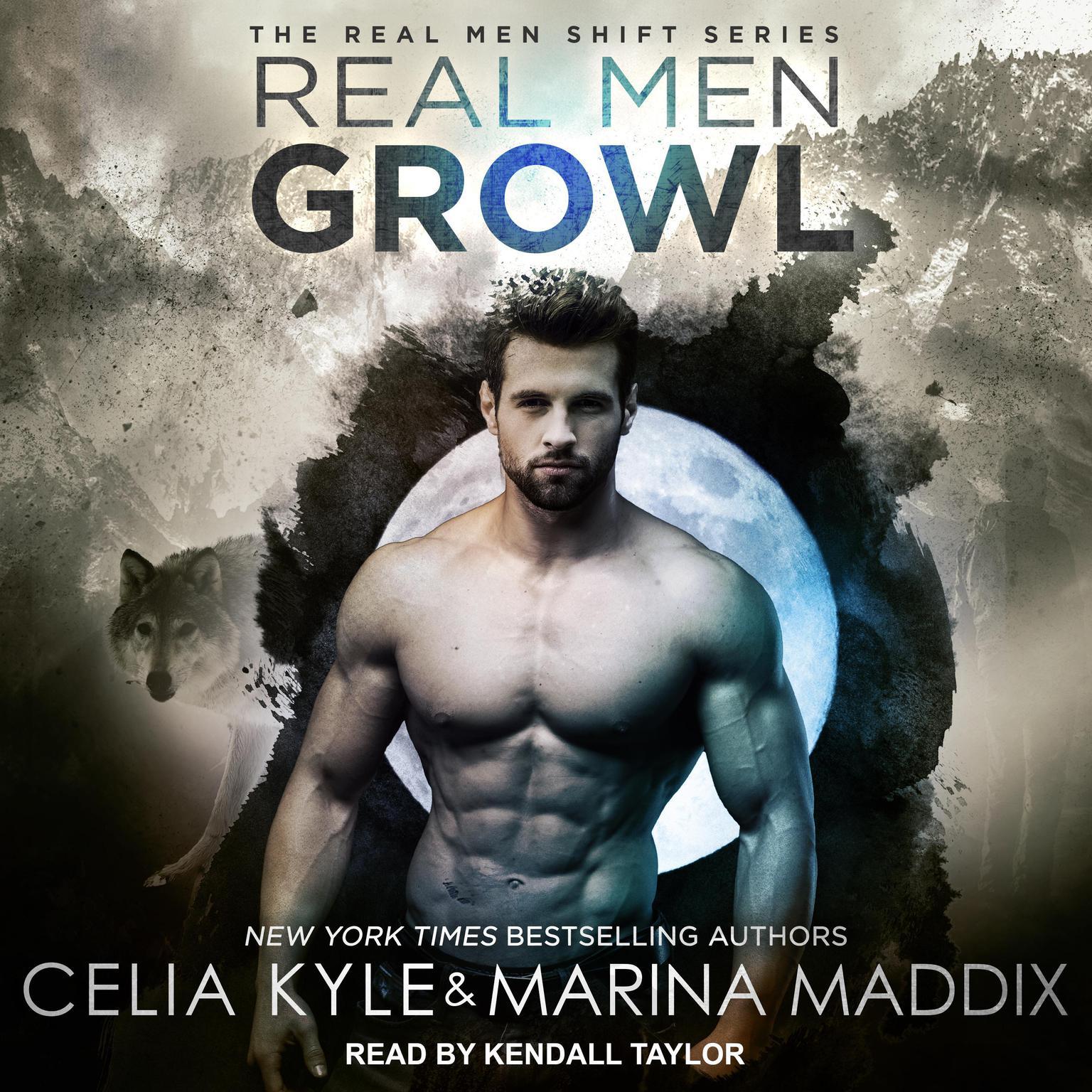 Printable Real Men Growl Audiobook Cover Art