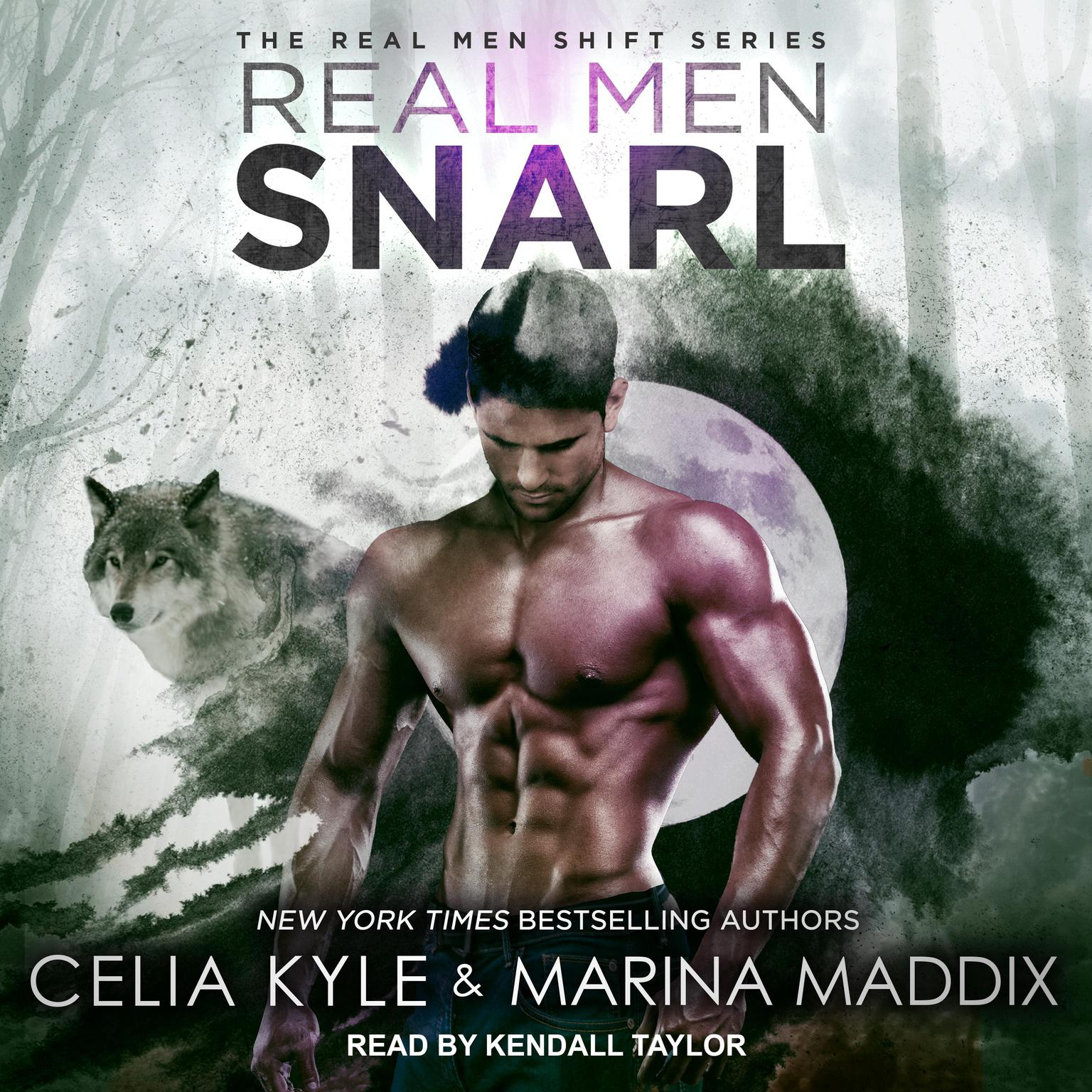 Printable Real Men Snarl Audiobook Cover Art