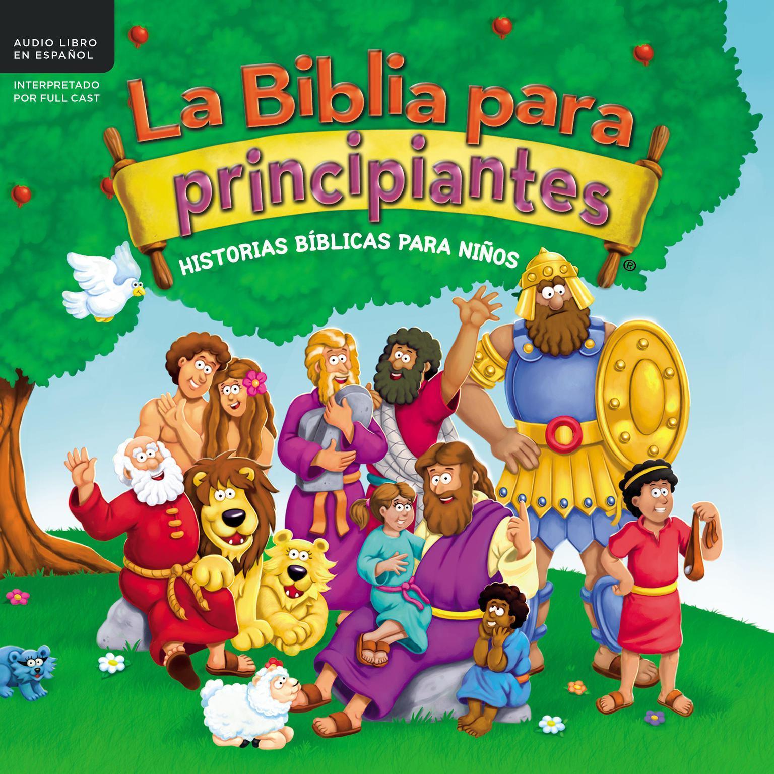 Printable La Biblia para principiantes: Historias bíblicas para niños Audiobook Cover Art