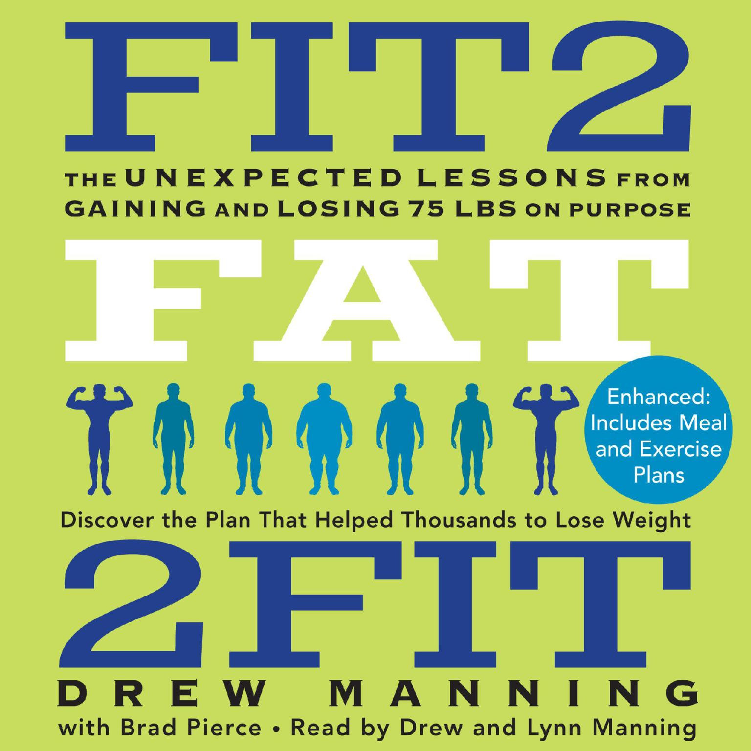 Printable Fit2Fat2Fit: The Unexpected Lessons from Gaining and Losing 75 lbs on Purpose Audiobook Cover Art