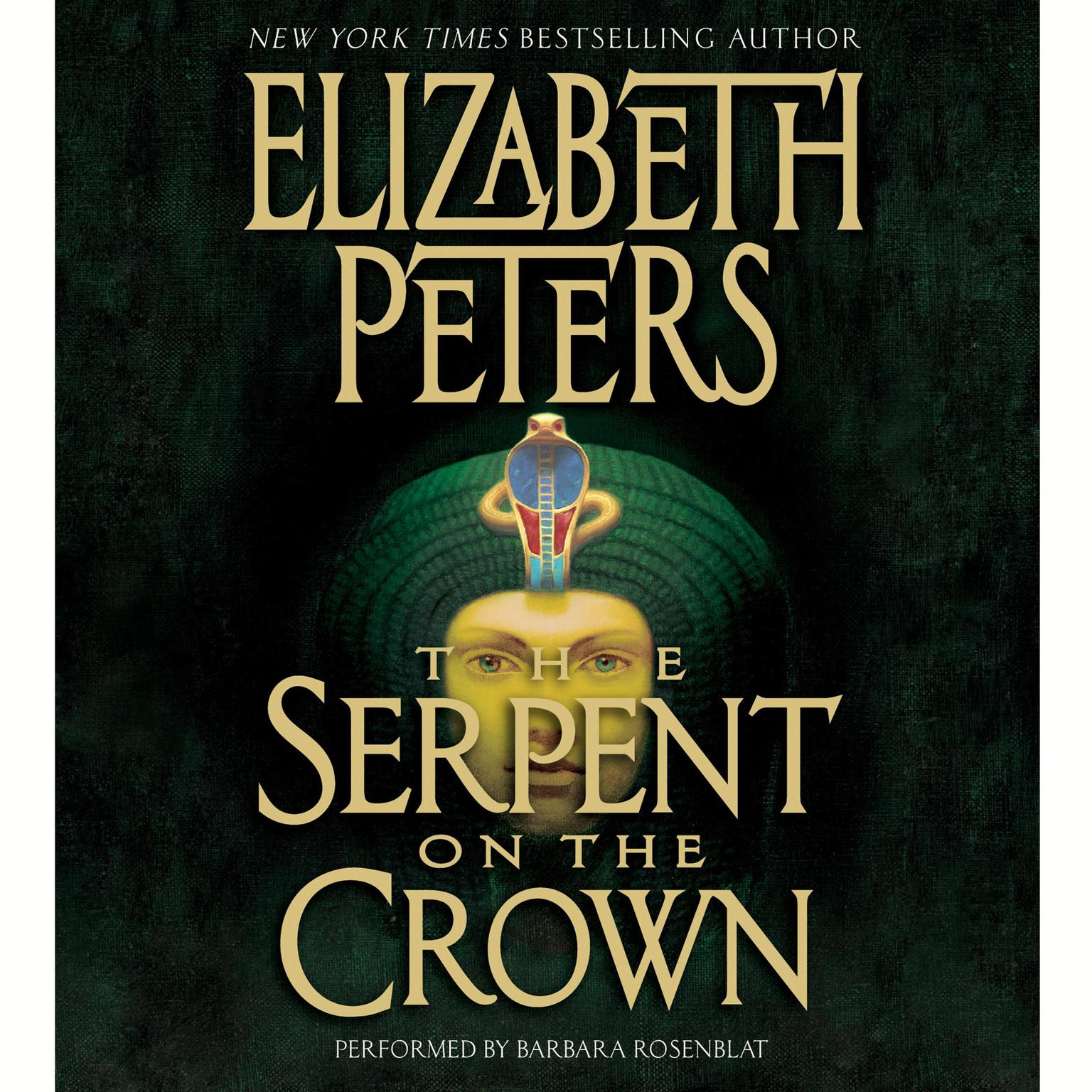 Printable The Serpent on the Crown Audiobook Cover Art