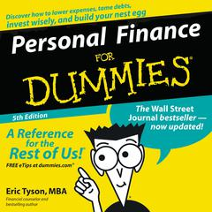 Personal Finance For Dummies Audiobook, by Eric Tyson