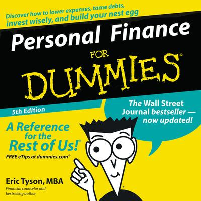 Personal Finance For Dummies (Abridged) Audiobook, by Eric Tyson