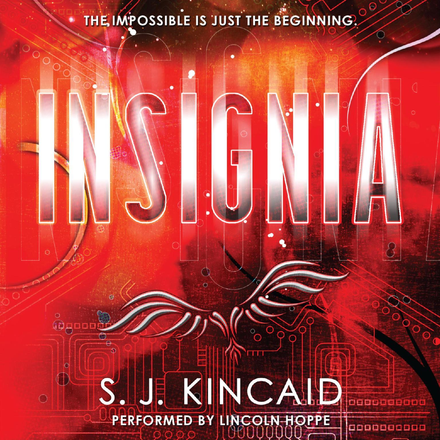 Printable Insignia Audiobook Cover Art