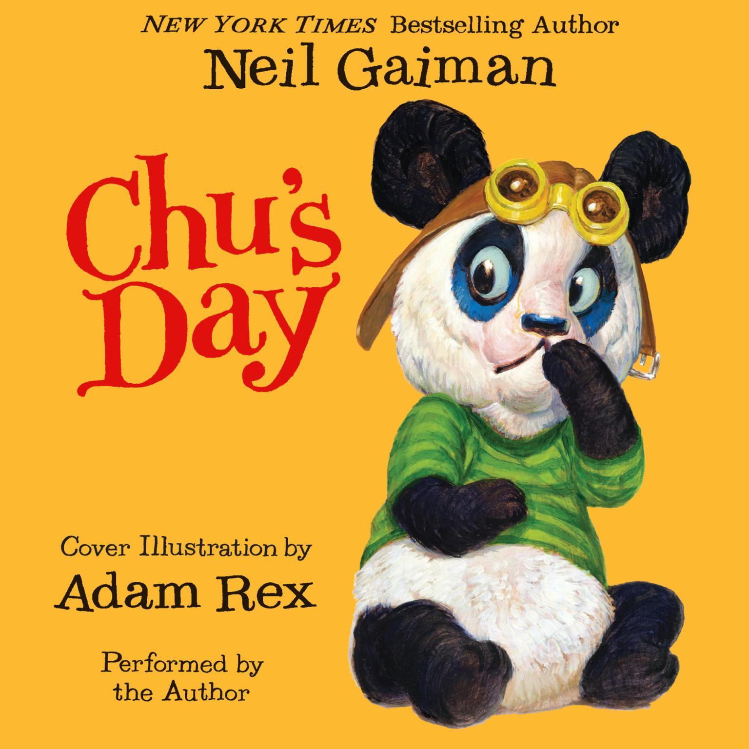 Printable Chu's Day Audiobook Cover Art