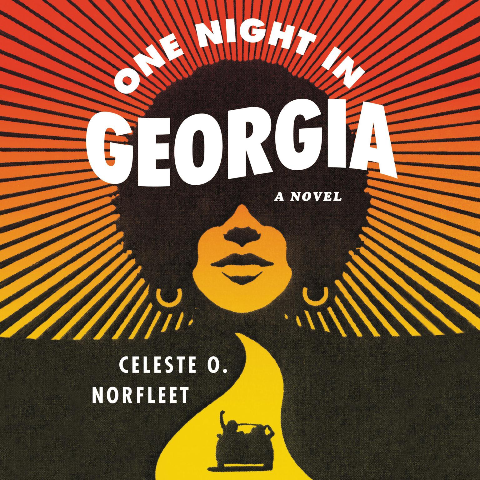 Printable One Night in Georgia: A Novel Audiobook Cover Art