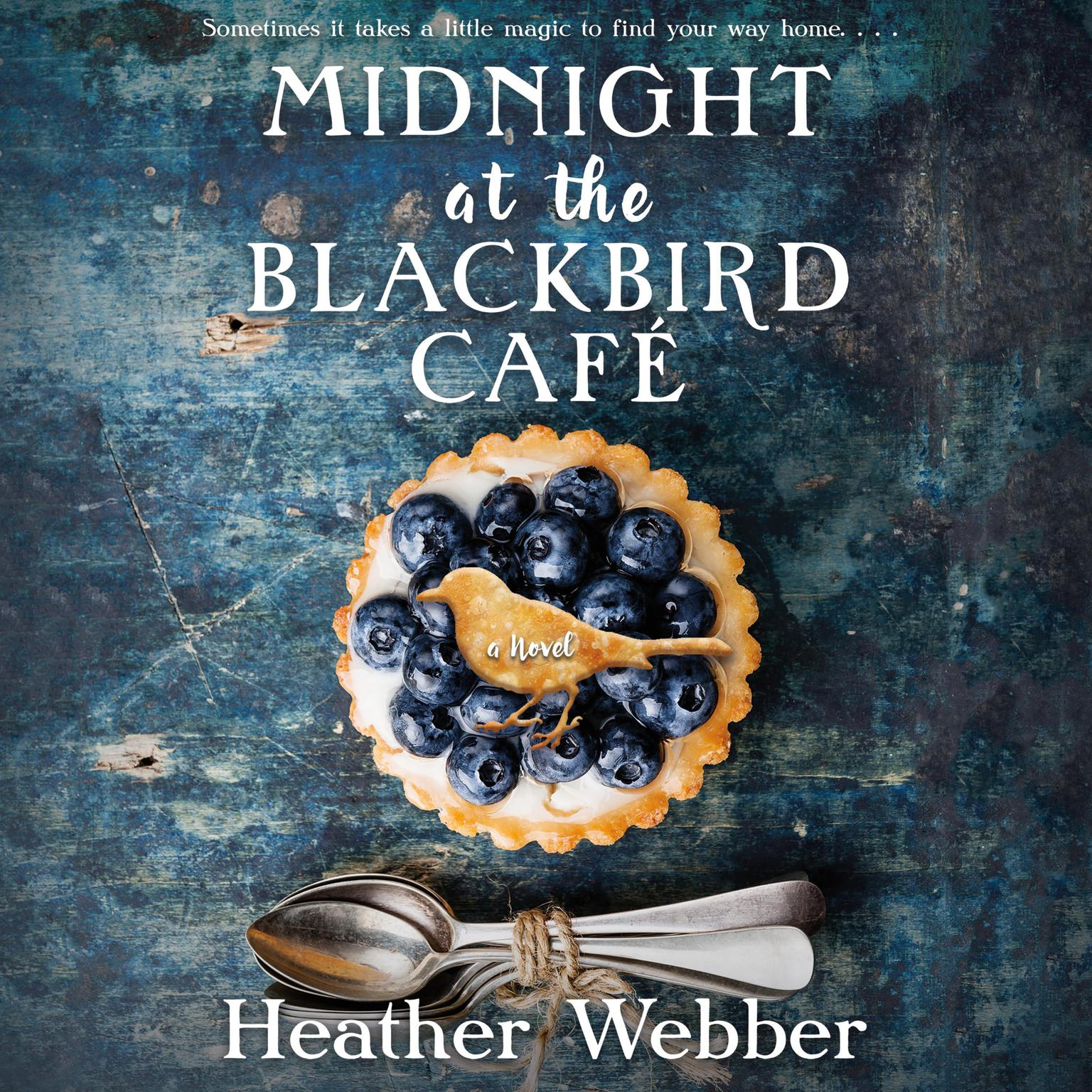 Printable Midnight at the Blackbird Cafe Audiobook Cover Art