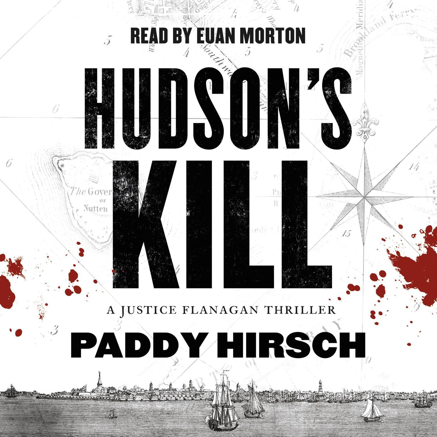 Printable Hudson's Kill: A Justice Flanagan Thriller Audiobook Cover Art