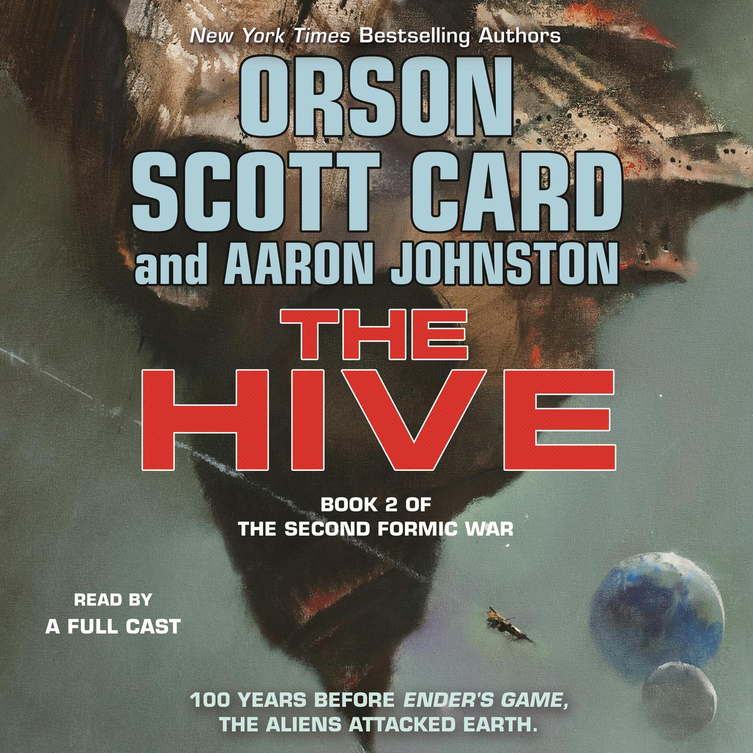Printable The Hive Audiobook Cover Art