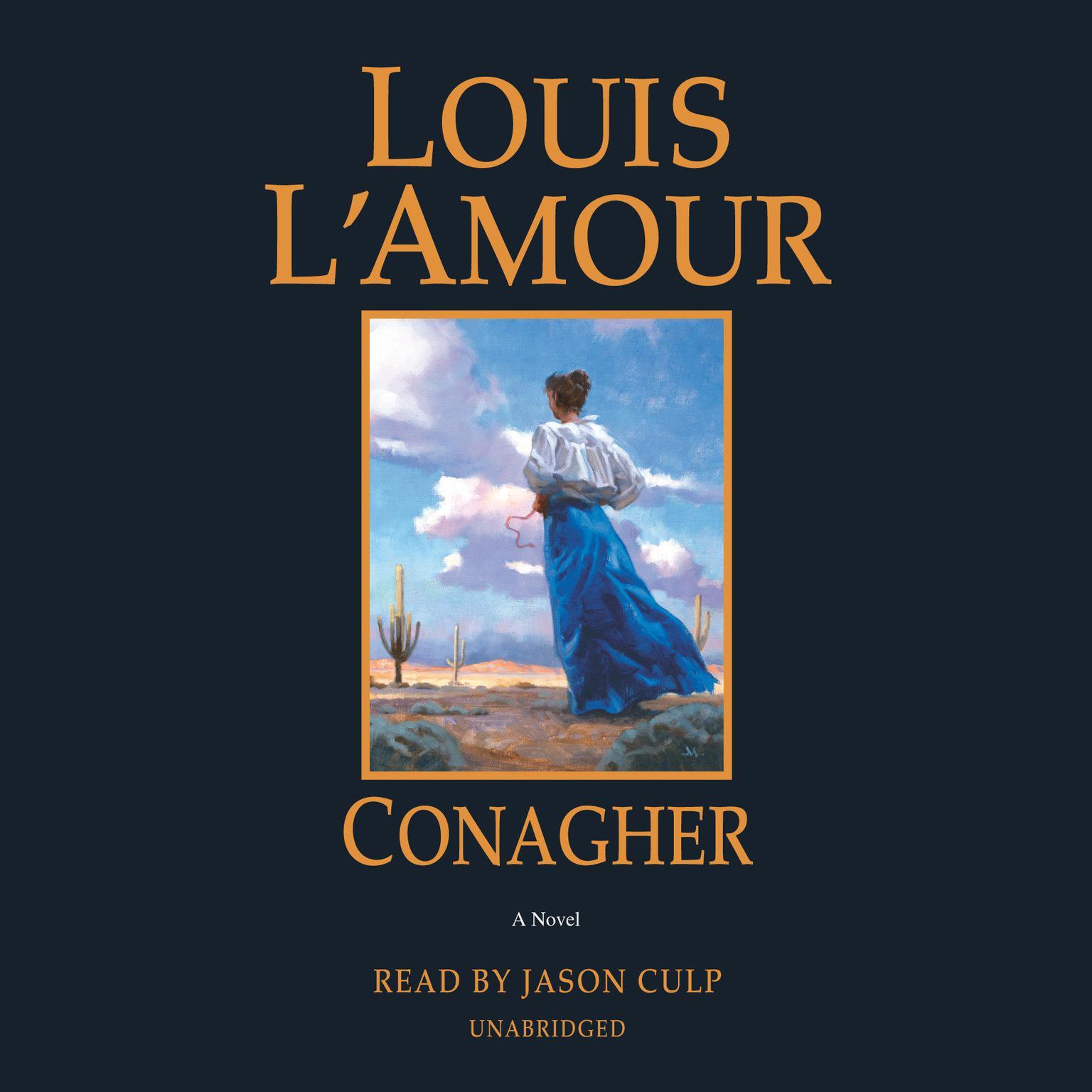 Printable Conagher: A Novel Audiobook Cover Art
