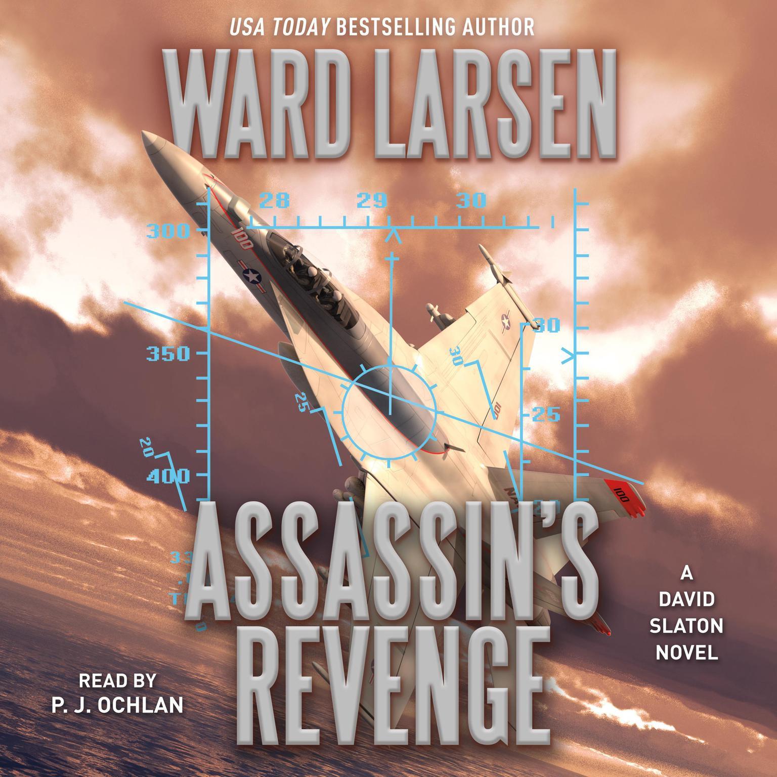 Printable Assassin's Revenge: A David Slaton Novel Audiobook Cover Art