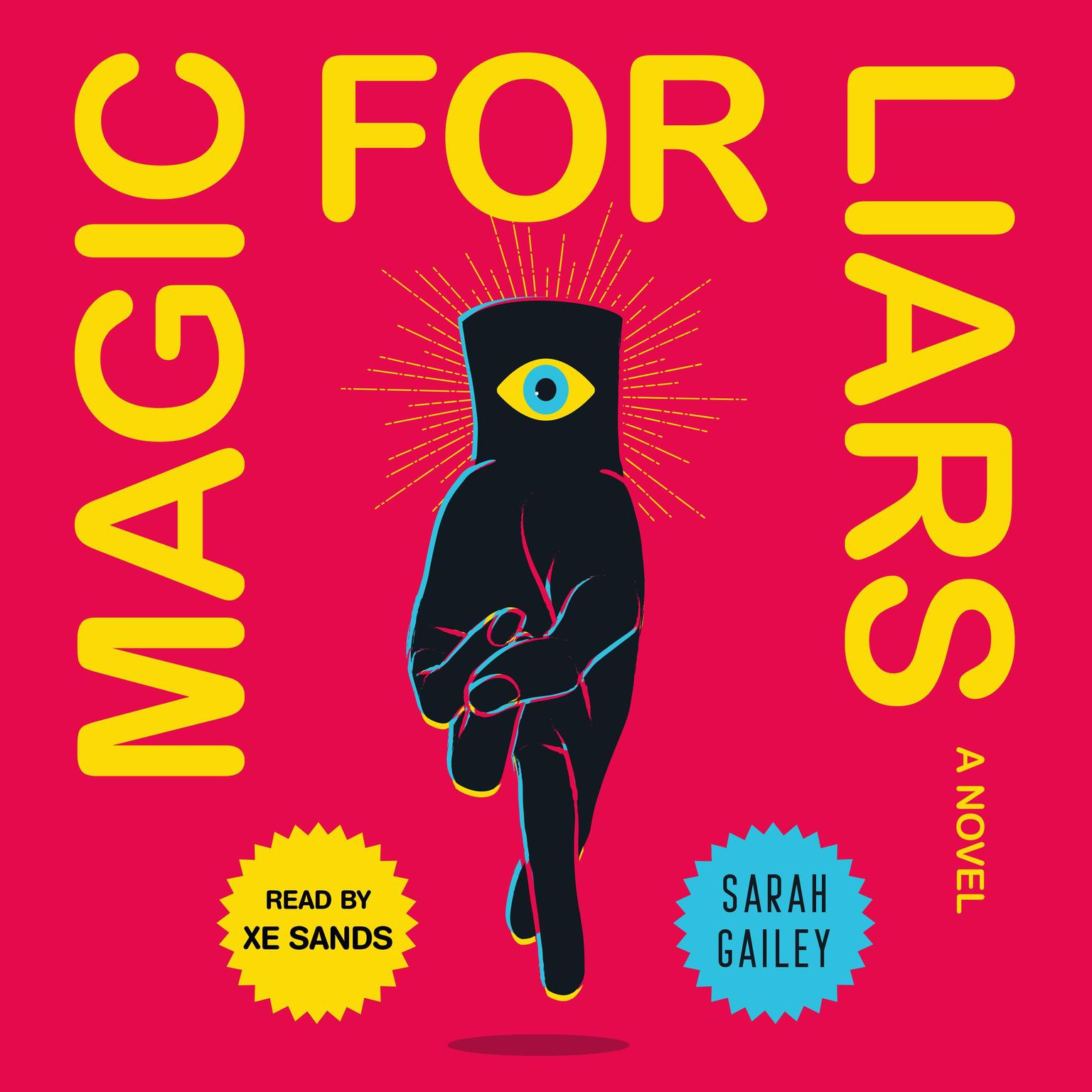 Printable Magic for Liars: A Novel Audiobook Cover Art