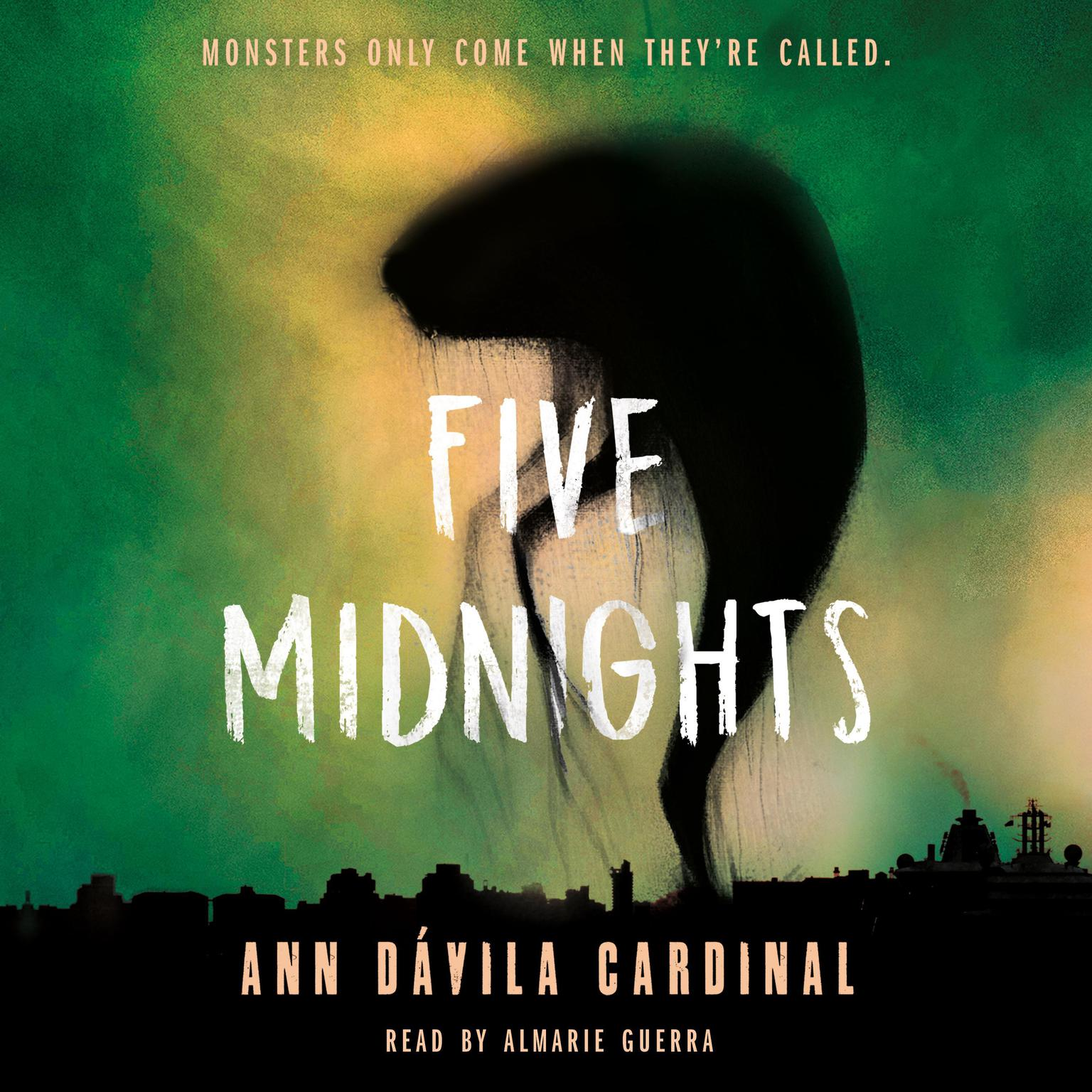 Printable Five Midnights Audiobook Cover Art