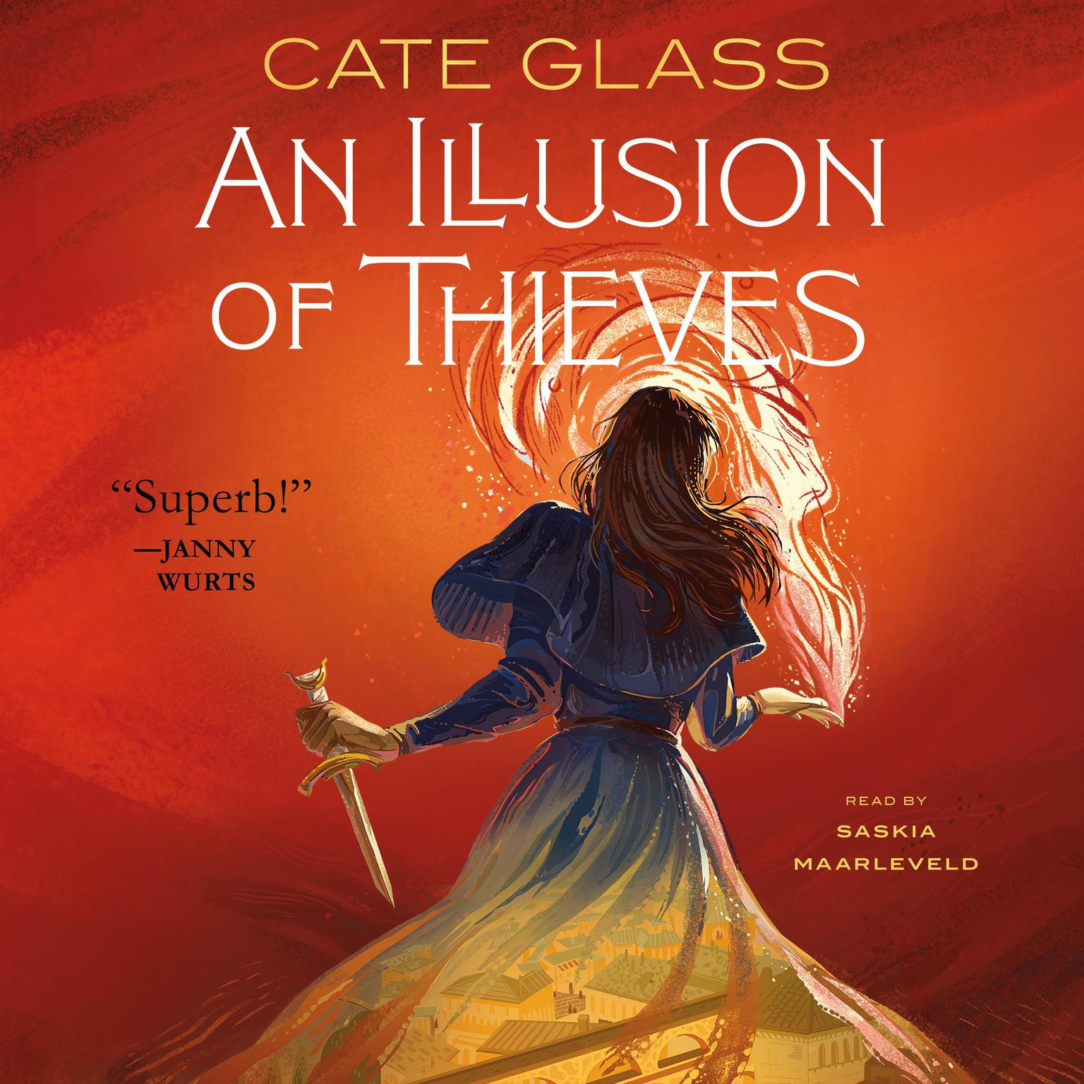Printable An Illusion of Thieves Audiobook Cover Art